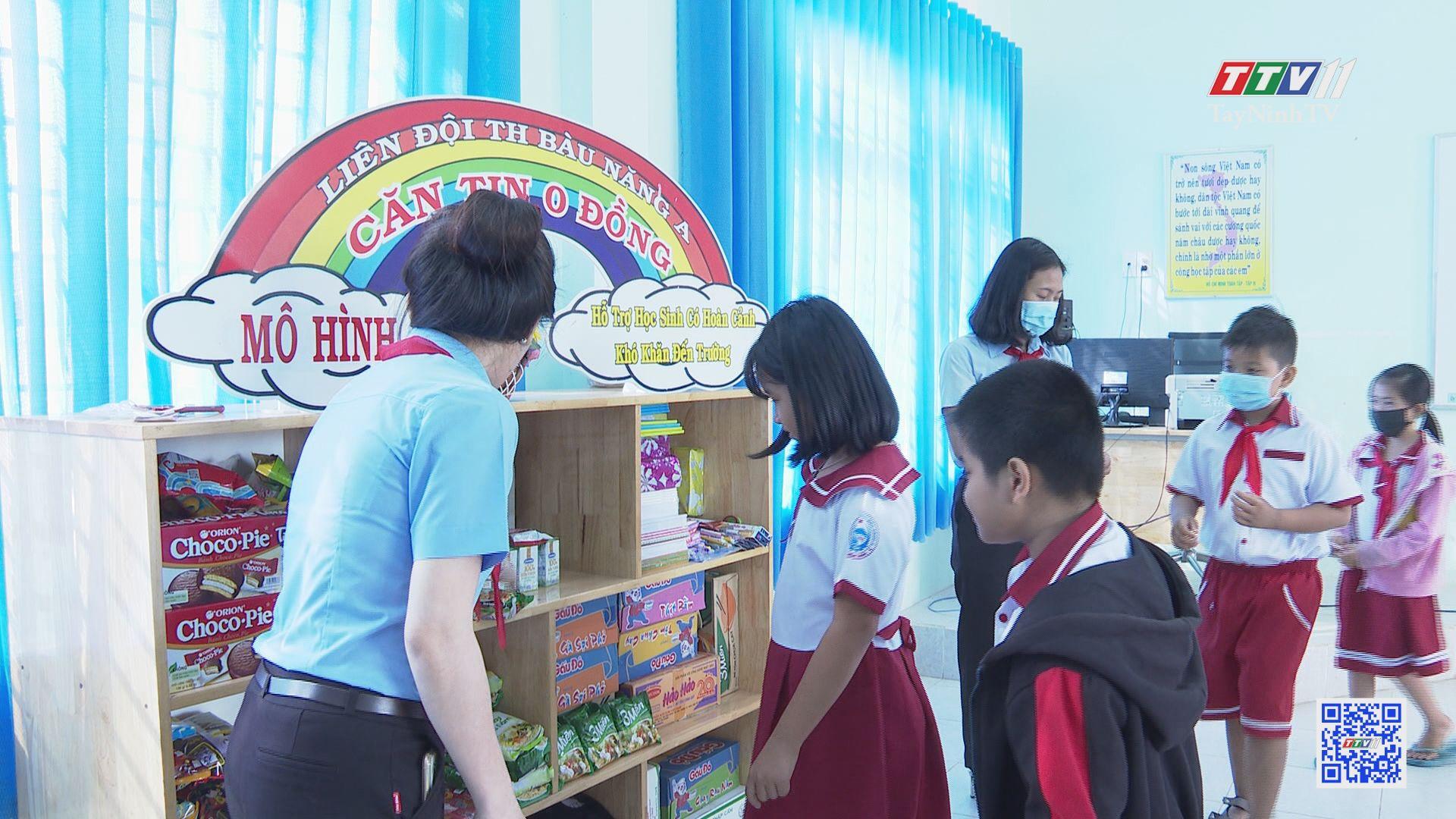 Căn tin 0 đồng-Ấm lòng những học sinh khó khăn | THANH NIÊN | TayNinhTV