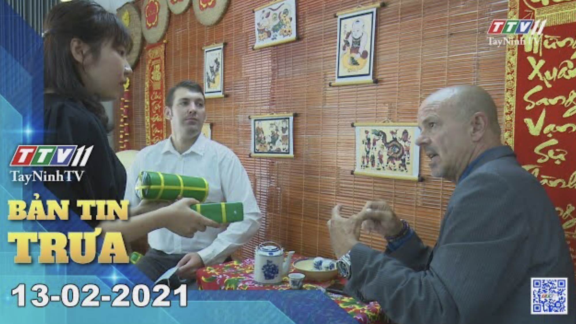 Bản tin trưa 13-02-2021 | Tin tức hôm nay | TayNinhTV