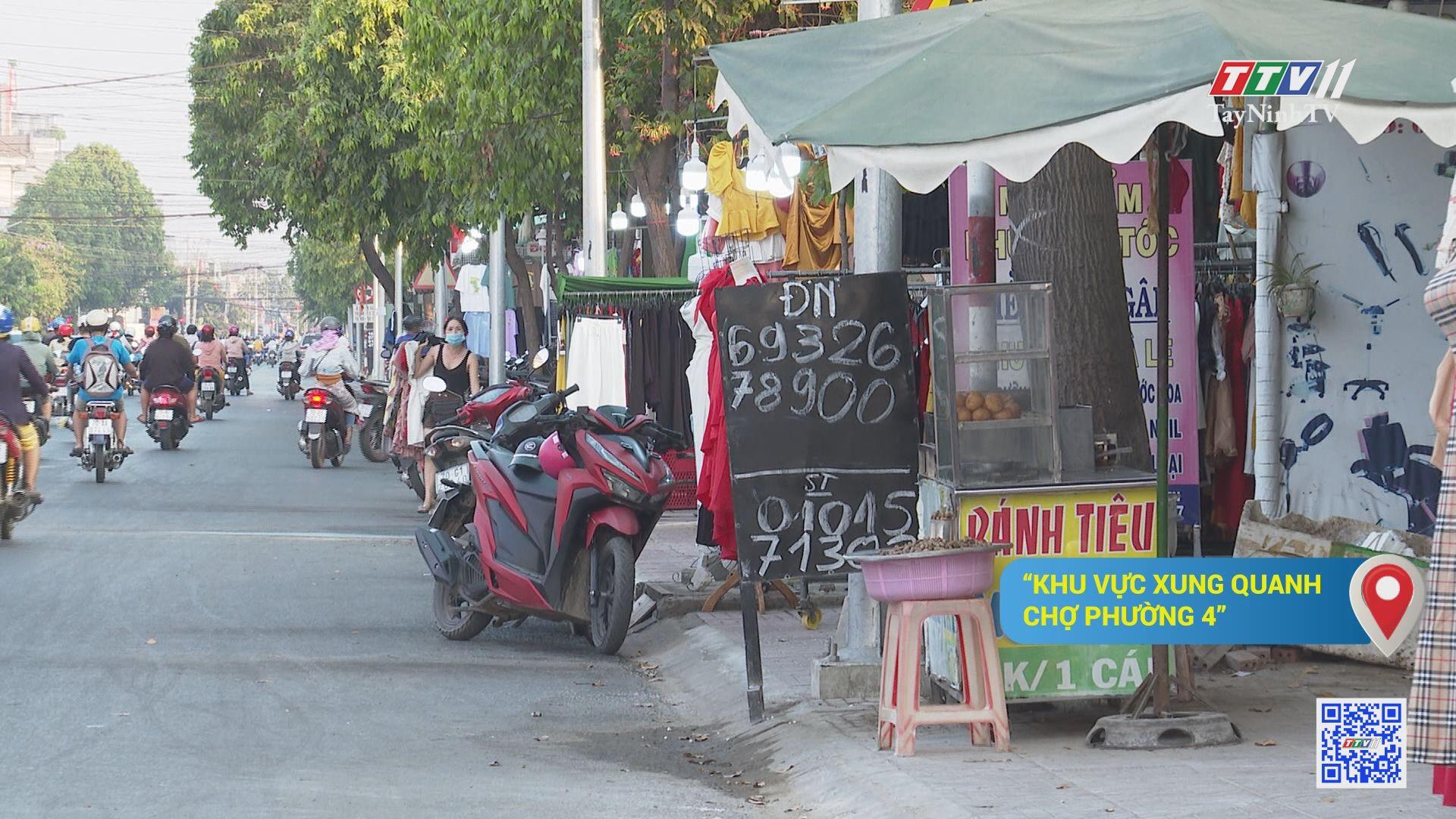 Chấn chỉnh tình trạng lấn chiếm vỉa hè trong đô thị: khó đến mức nào? | TIẾNG NÓI CỬ TRI | TayNinhTV