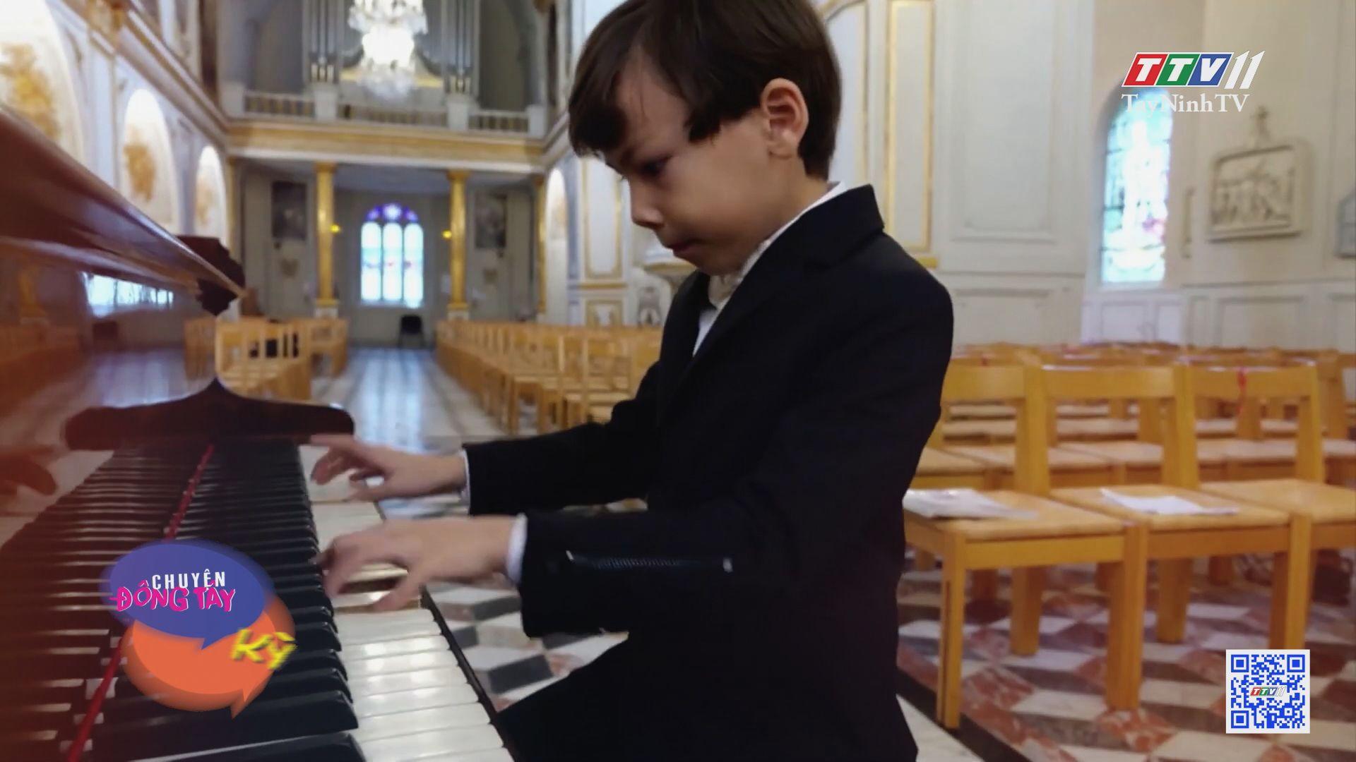 Thần đồng piano 6 tuổi ở Pháp | CHUYỆN ĐÔNG TÂY KỲ THÚ | TayNinhTVE