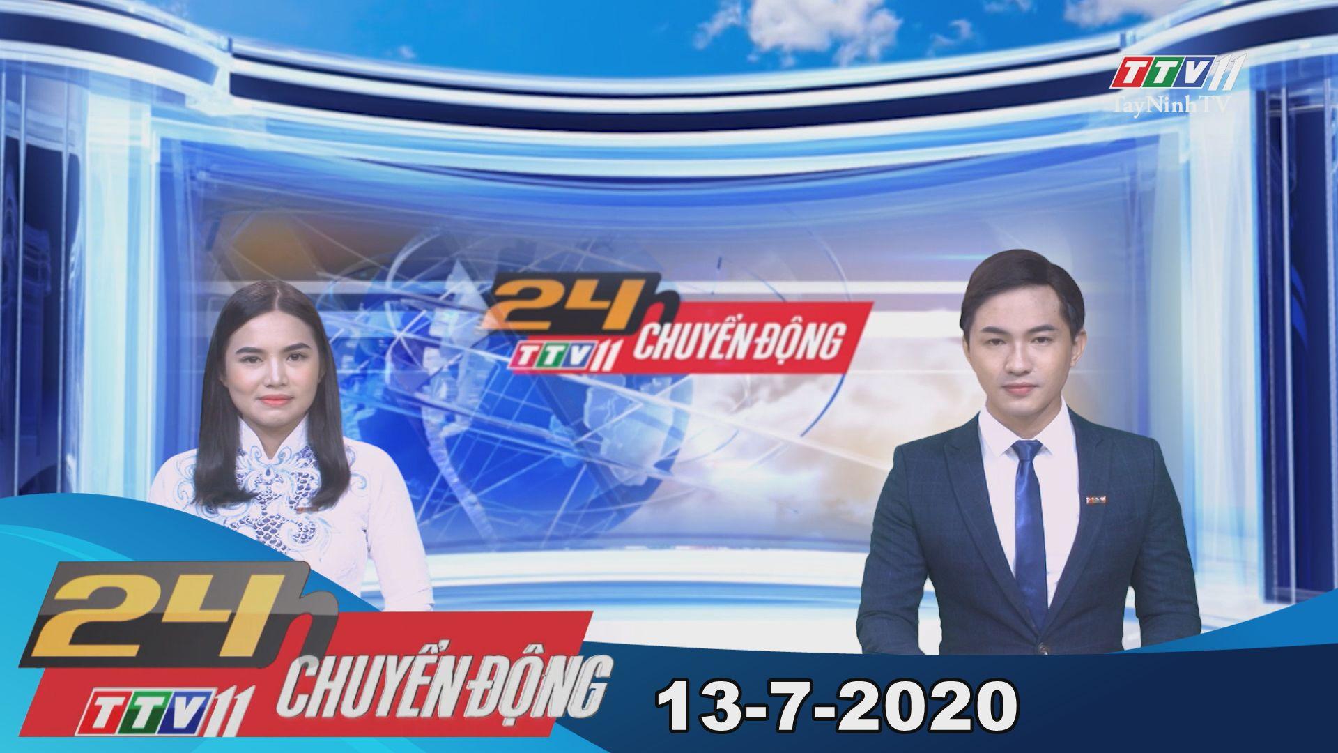 24h Chuyển động 13-7-2020 | Tin tức hôm nay | TayNinhTV