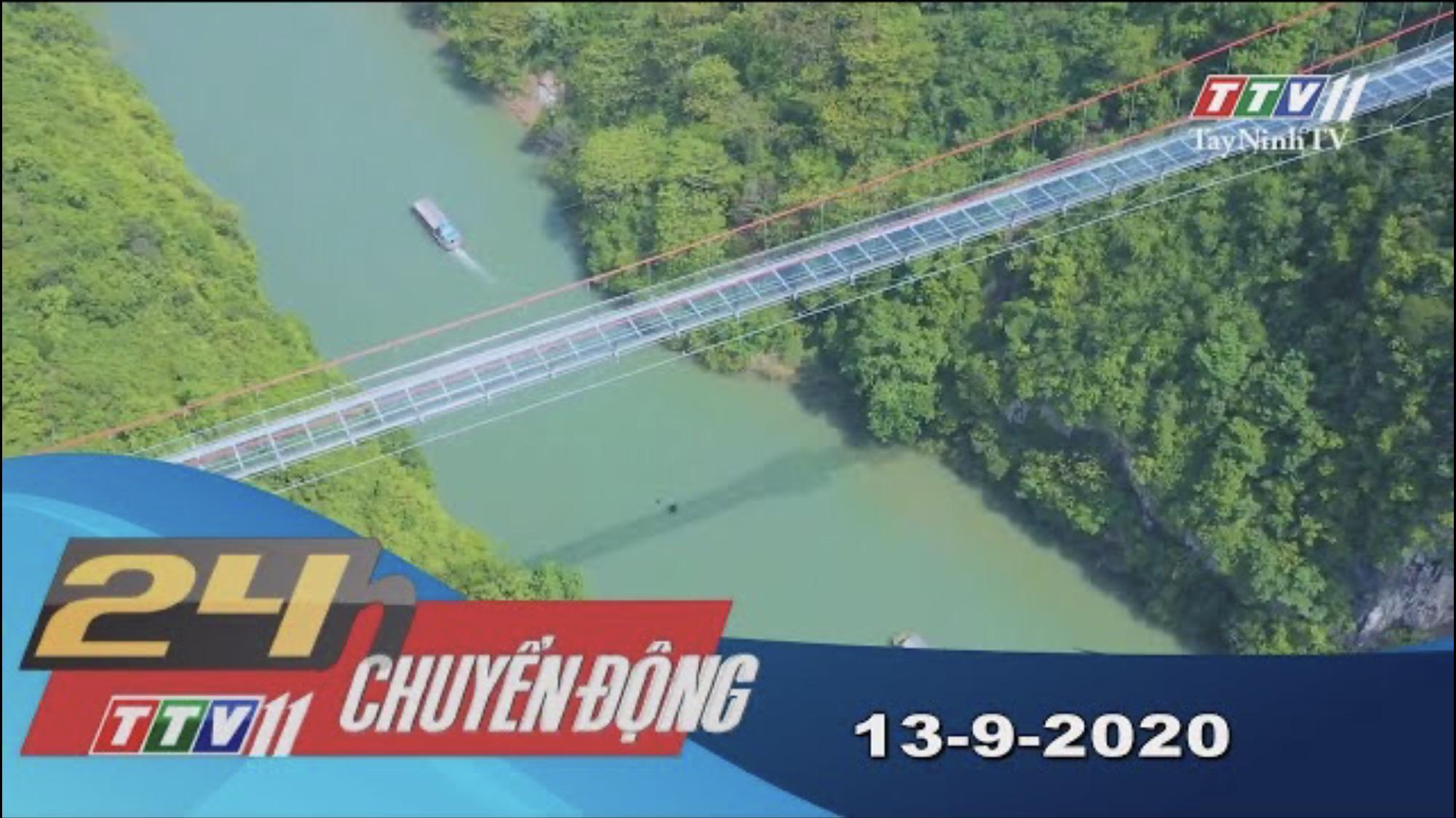 24h Chuyển động 13-9-2020 | Tin tức hôm nay | TayNinhTV
