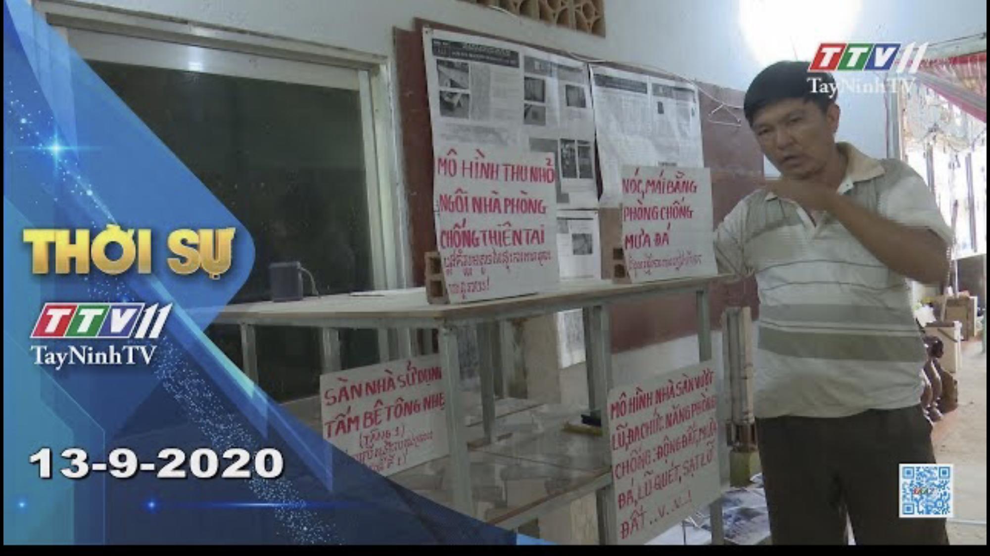 Thời sự Tây Ninh 13-9-2020 | Tin tức hôm nay | TayNinhTV