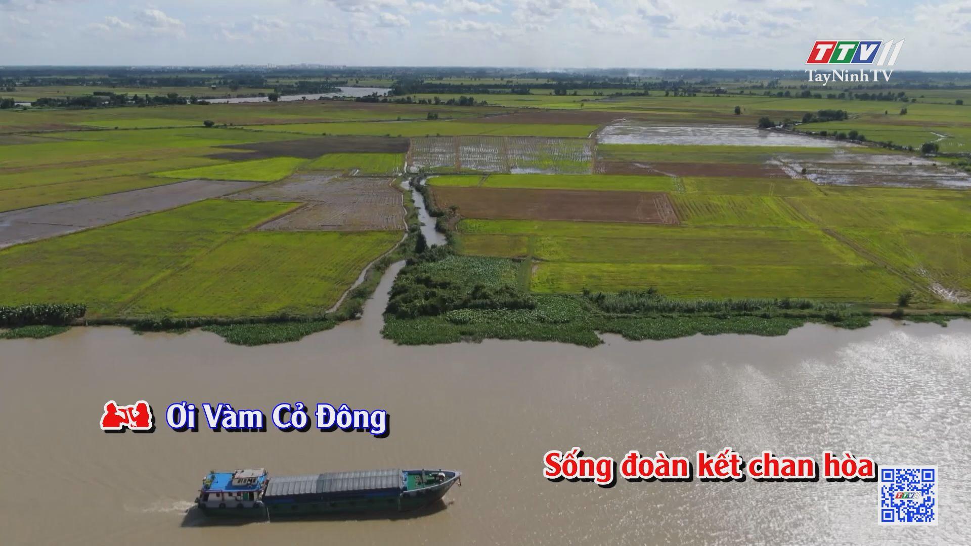 Đôi bờ sông Vàm Cỏ Đông KARAOKE | Tuyển tập karaoke Tây Ninh tình yêu trong tôi | TayNinhTV