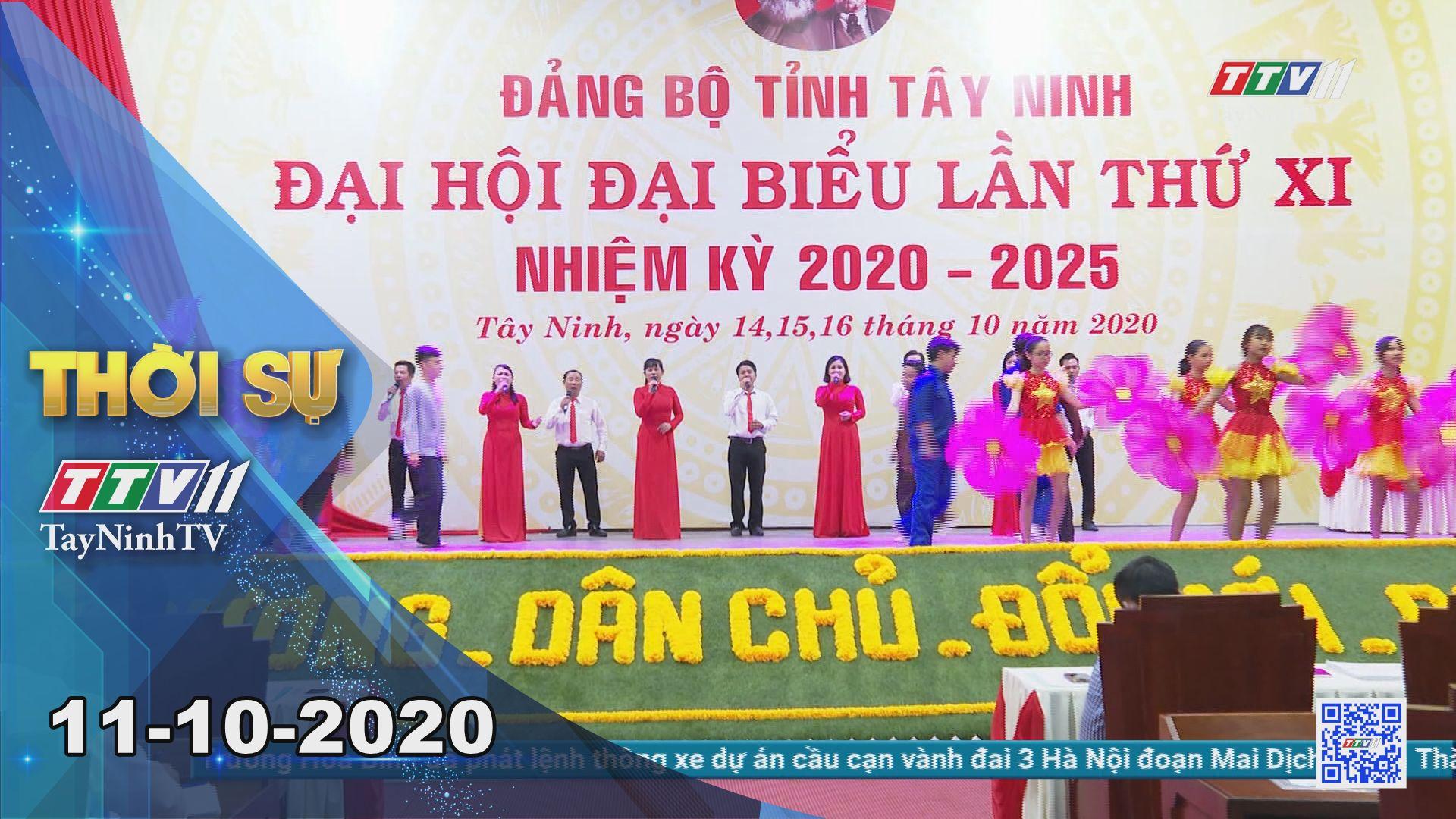 Thời sự Tây Ninh 11-10-2020 | Tin tức hôm nay | TayNinhTV