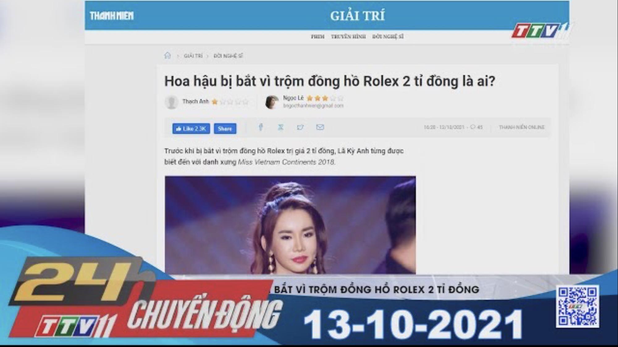 24H CHUYỂN ĐỘNG 13/10/2021 | Tin tức hôm nay | TayNinhTV
