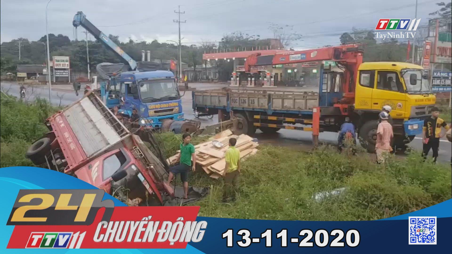 24h Chuyển động 13-11-2020 | Tin tức hôm nay | TayNinhTV