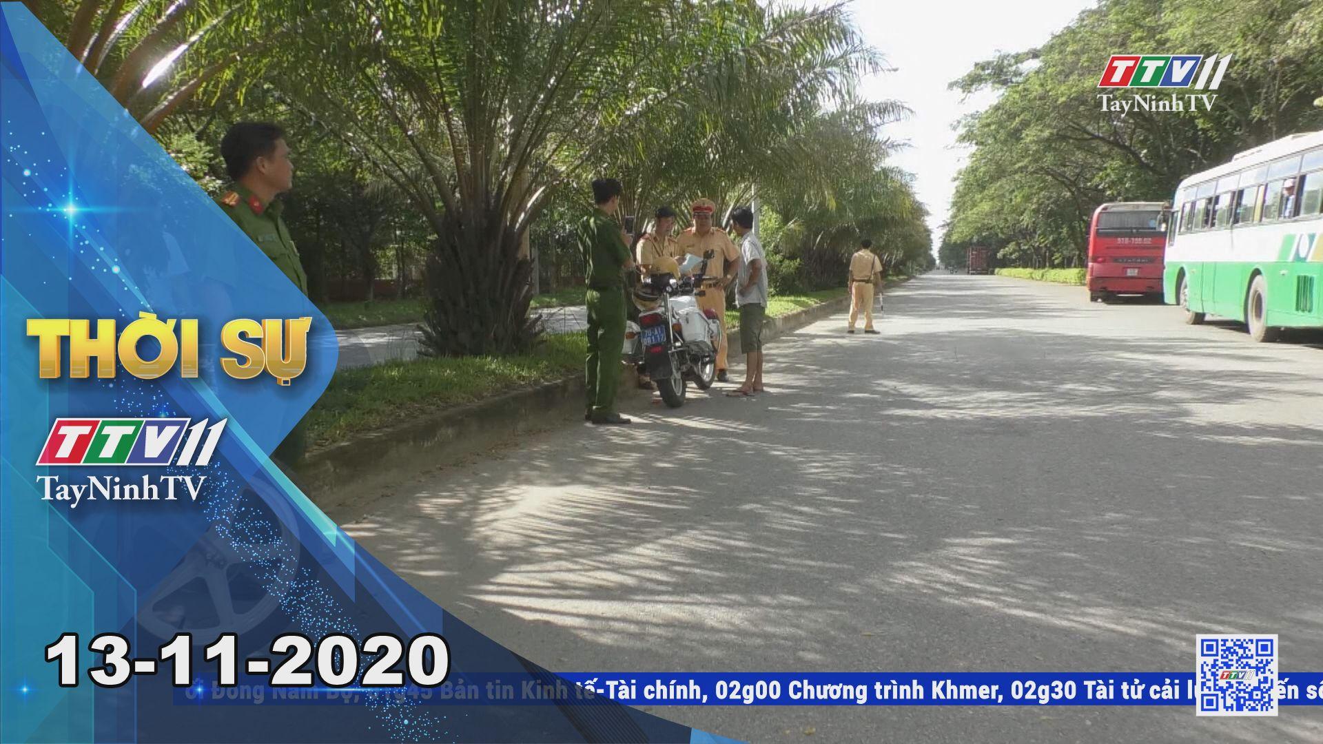 Thời sự Tây Ninh 13-11-2020 | Tin tức hôm nay | TayNinhTV