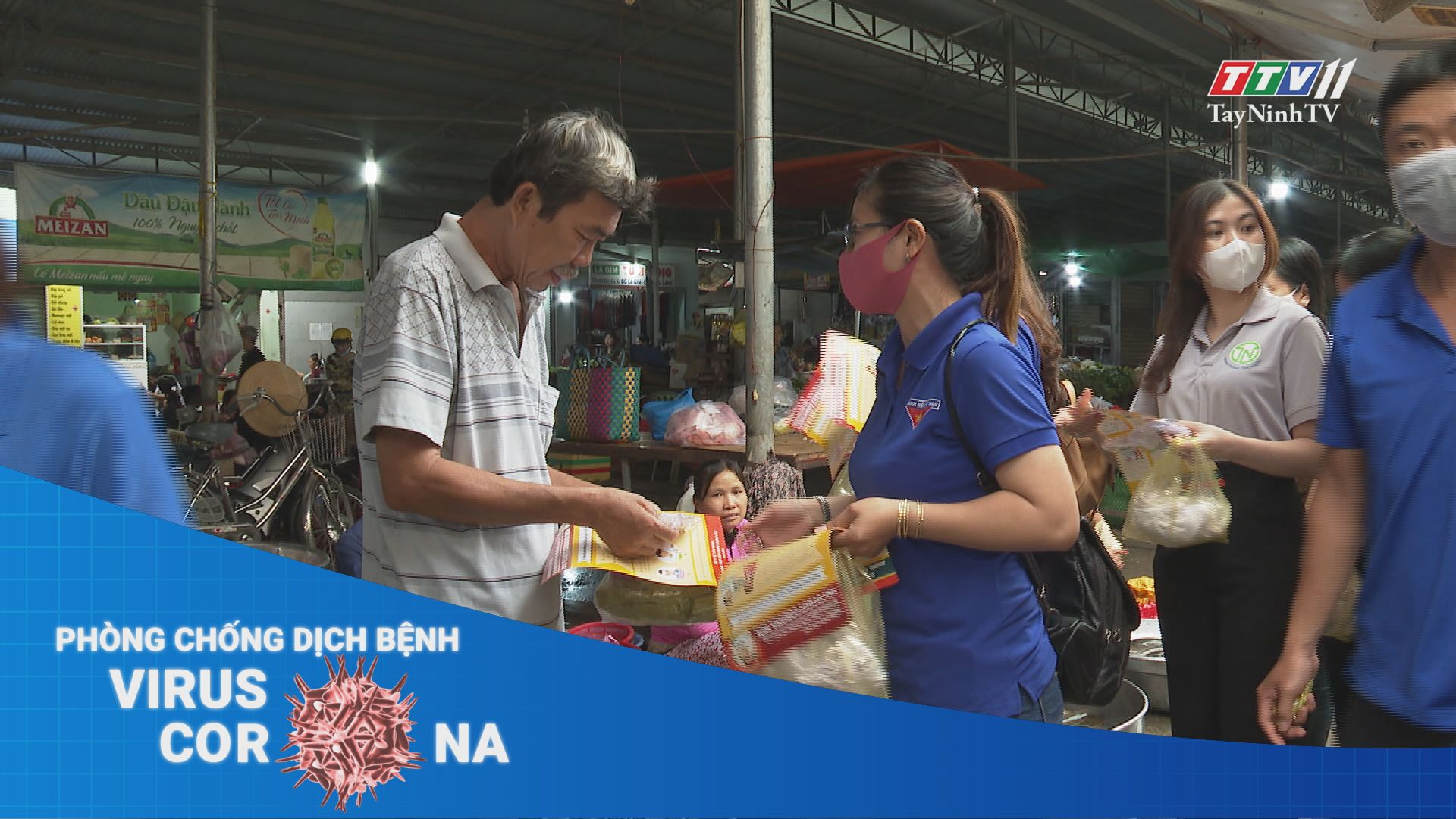 Đoàn viên thanh niên Tây Ninh chung tay phòng chống Covid-19 | THÔNG TIN DỊCH CÚM COVID-19 | TayNinhTV