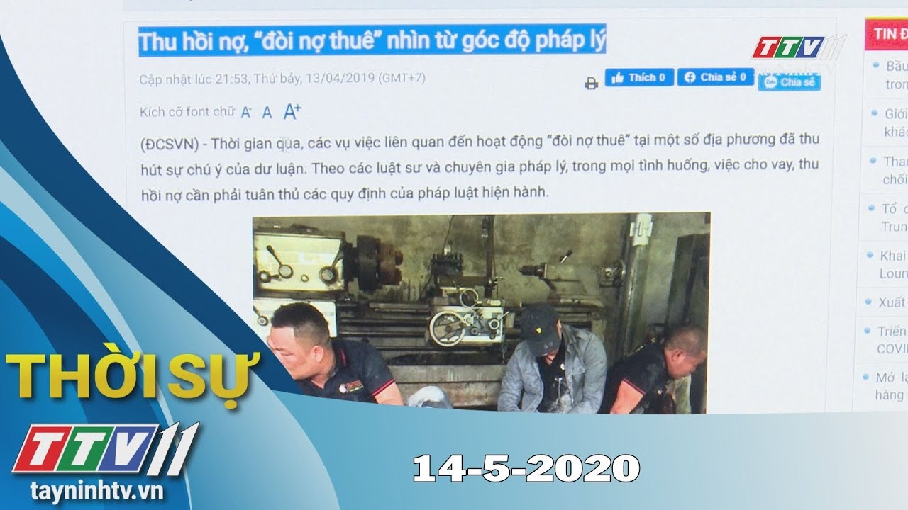 Thời sự Tây Ninh 14-5-2020 | Tin tức hôm nay | TayNinhTV