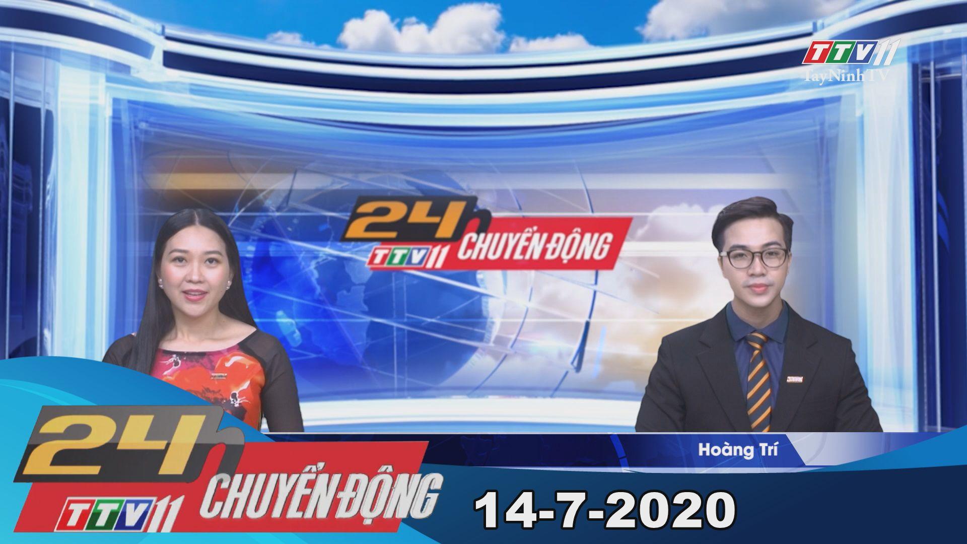24h Chuyển động 14-7-2020 | Tin tức hôm nay | TayNinhTV