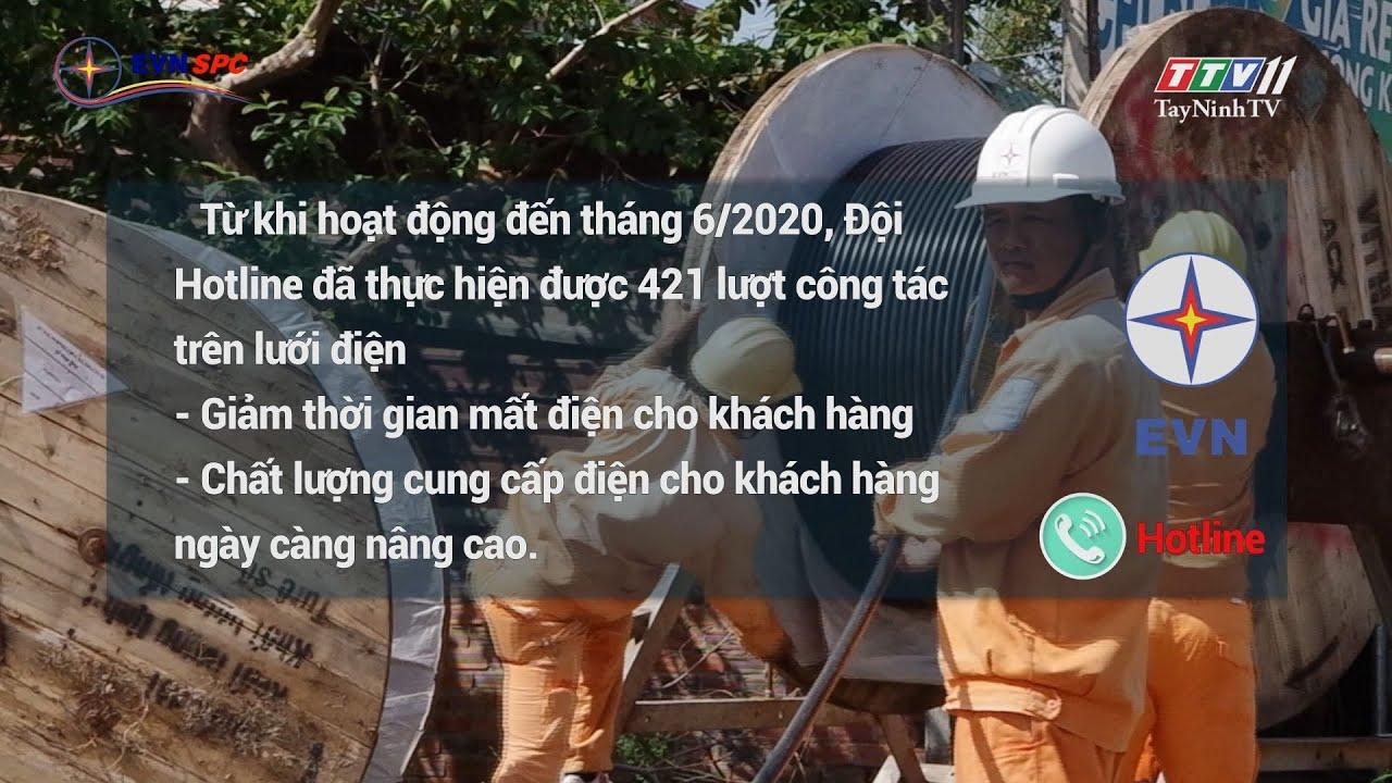Hiệu quả của dịch vụ sửa chữa hotline | ĐIỆN VÀ CUỘC SỐNG | TayNinhTV
