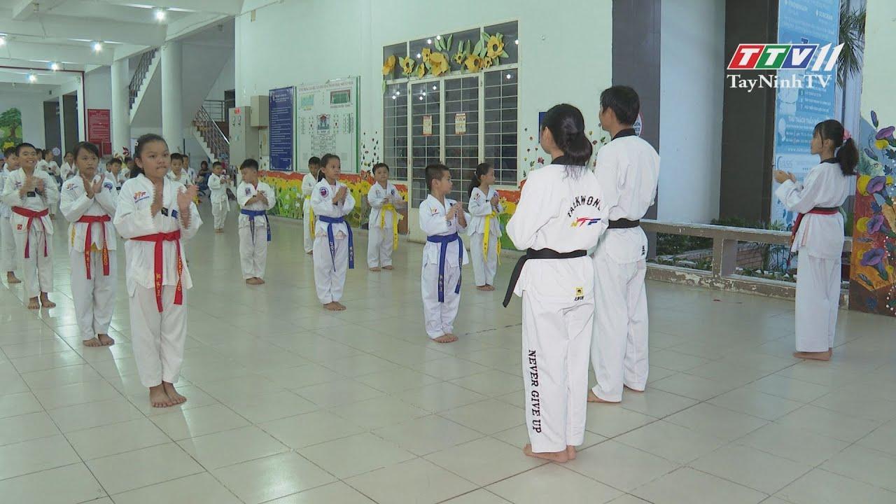 Môn võ Taekwondo | TRANG TUỔI THƠ | TayNinhTV