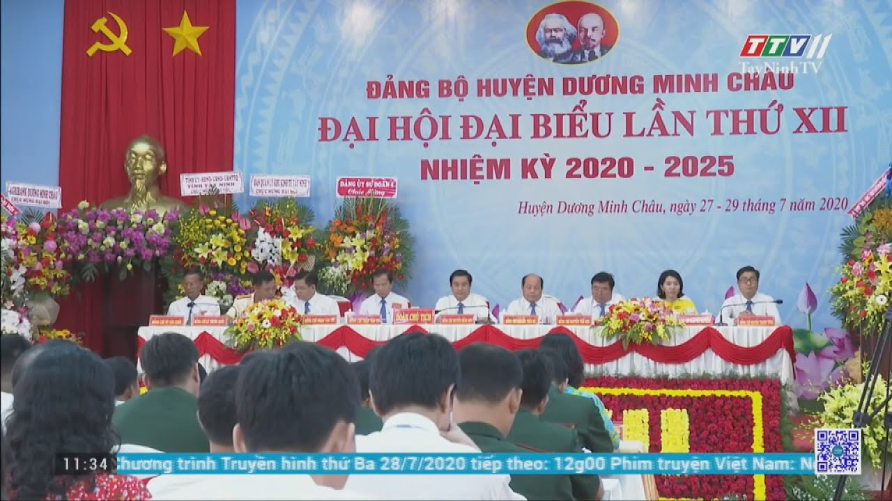 Khai mạc ĐHĐB Đảng bộ Huyện Dương Minh Châu lần thứ XII | ĐẠI HỘI ĐẢNG CÁC CẤP | TayNinhTV