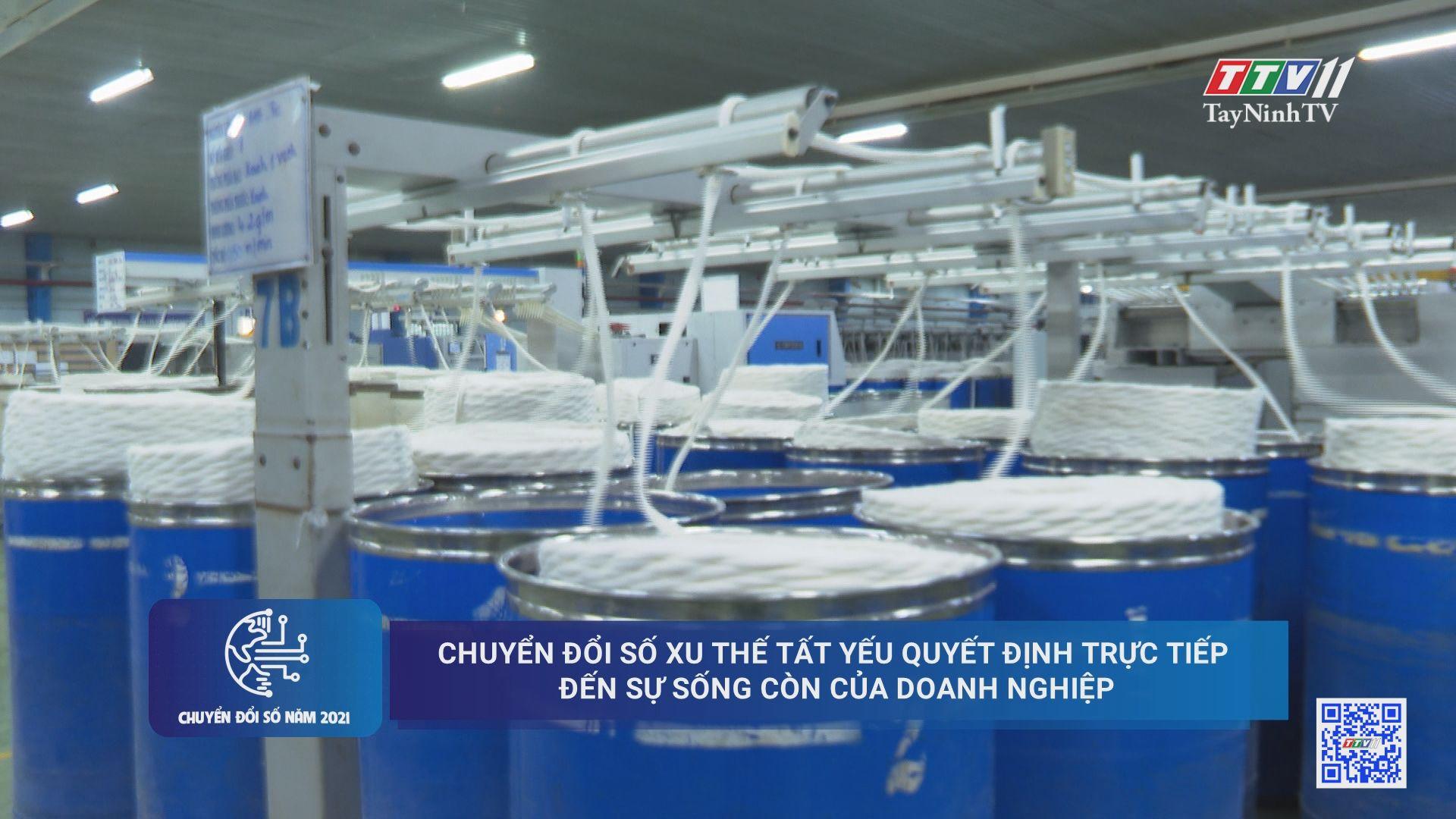Chuyển đổi số xu thế tất yếu quyết định trực tiếp đến sự sống còn của doanh nghiệp | CHUYỂN ĐỔI SỐ | TayNinhTV