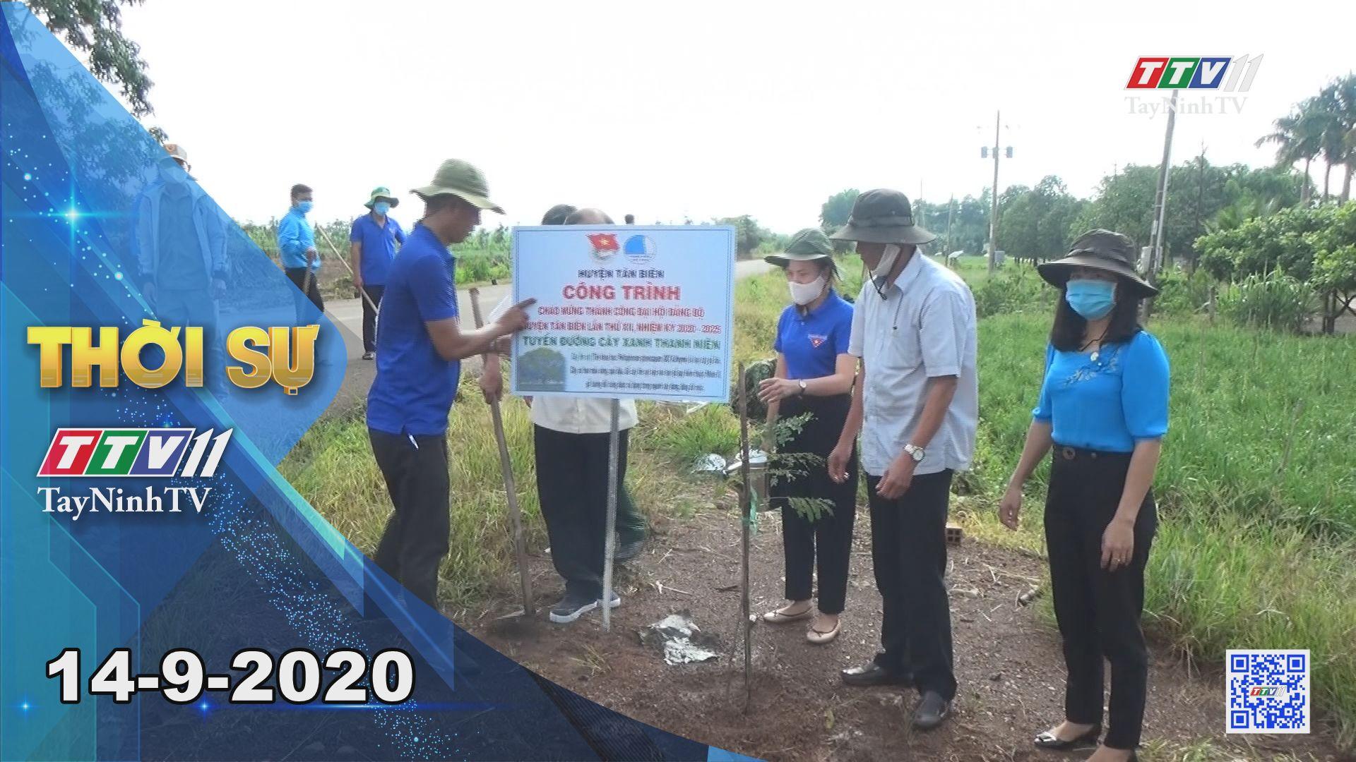 Thời sự Tây Ninh 14-9-2020 | Tin tức hôm nay | TayNinhTV