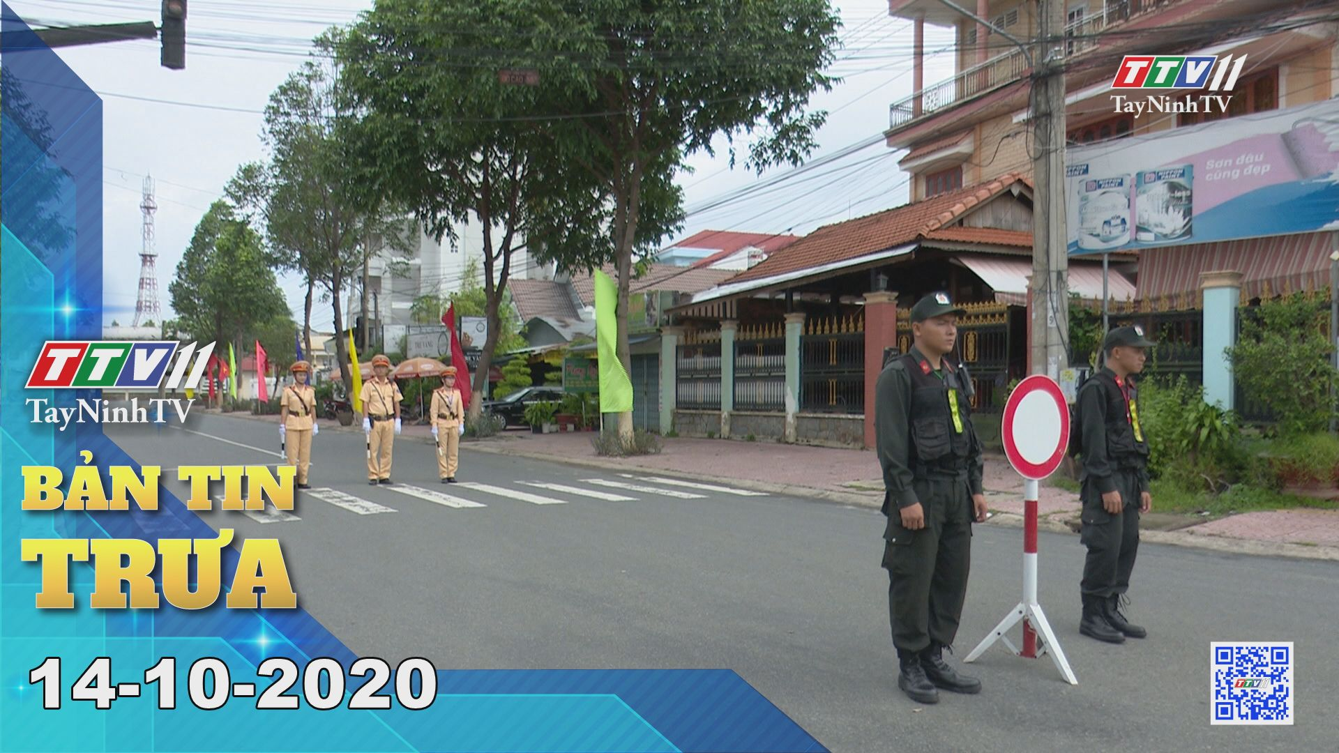 Bản tin trưa 14-10-2020 | Tin tức hôm nay | TayNinhTV