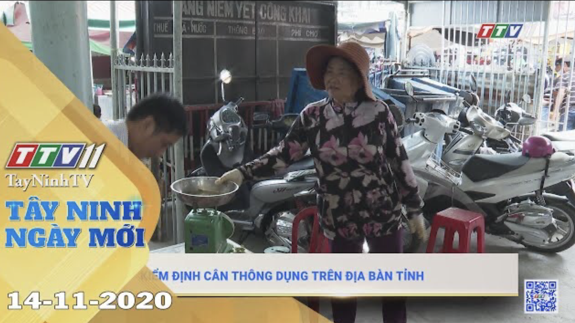 Tây Ninh Ngày Mới 14-11-2020 | Tin tức hôm nay | TayNinhTV