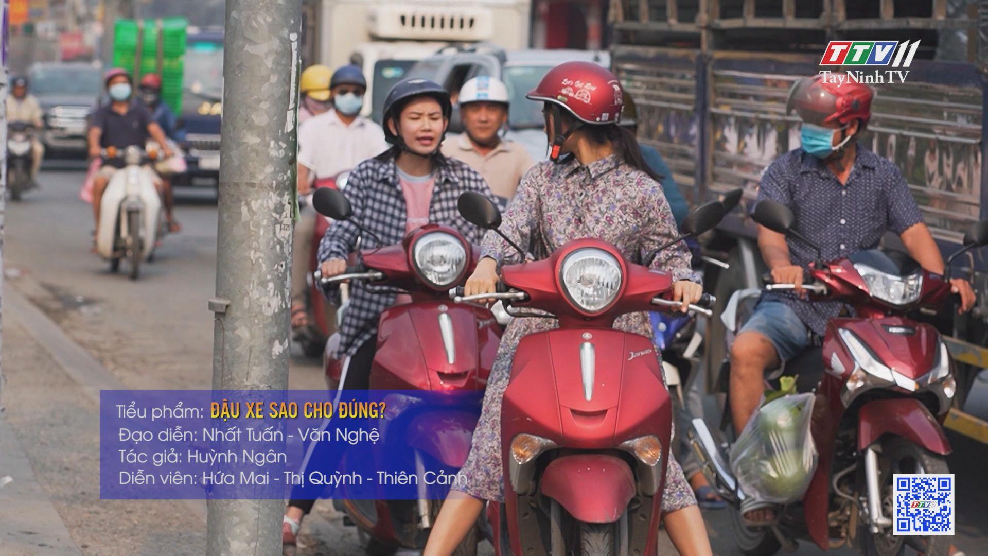TayNinhTV   Văn hóa giao thông   Đậu xe sao cho đúng?