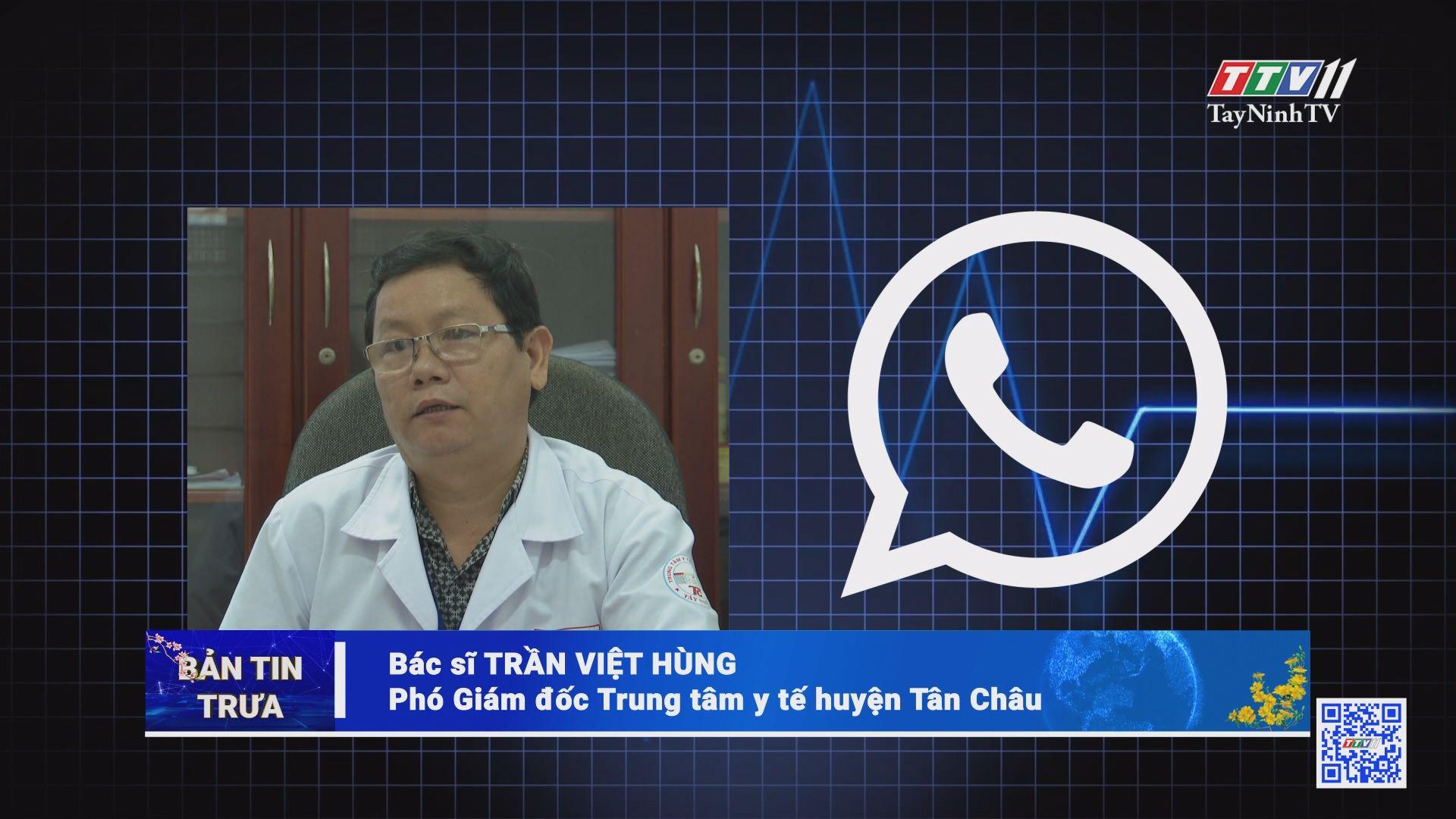 Trường hợp F1 tại huyện Tân Châu: âm tính lần 1 | THÔNG TIN DỊCH CÚM COVID-19 | TayNinhTV