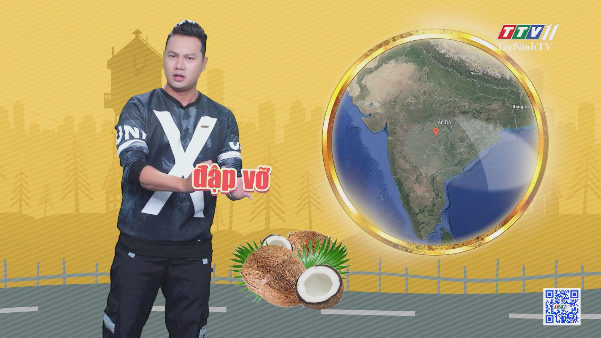 Kỷ lục bịt mắt đập vỡ những trái dừa | CHUYỆN ĐÔNG TÂY KỲ THÚ | TayNinhTVE