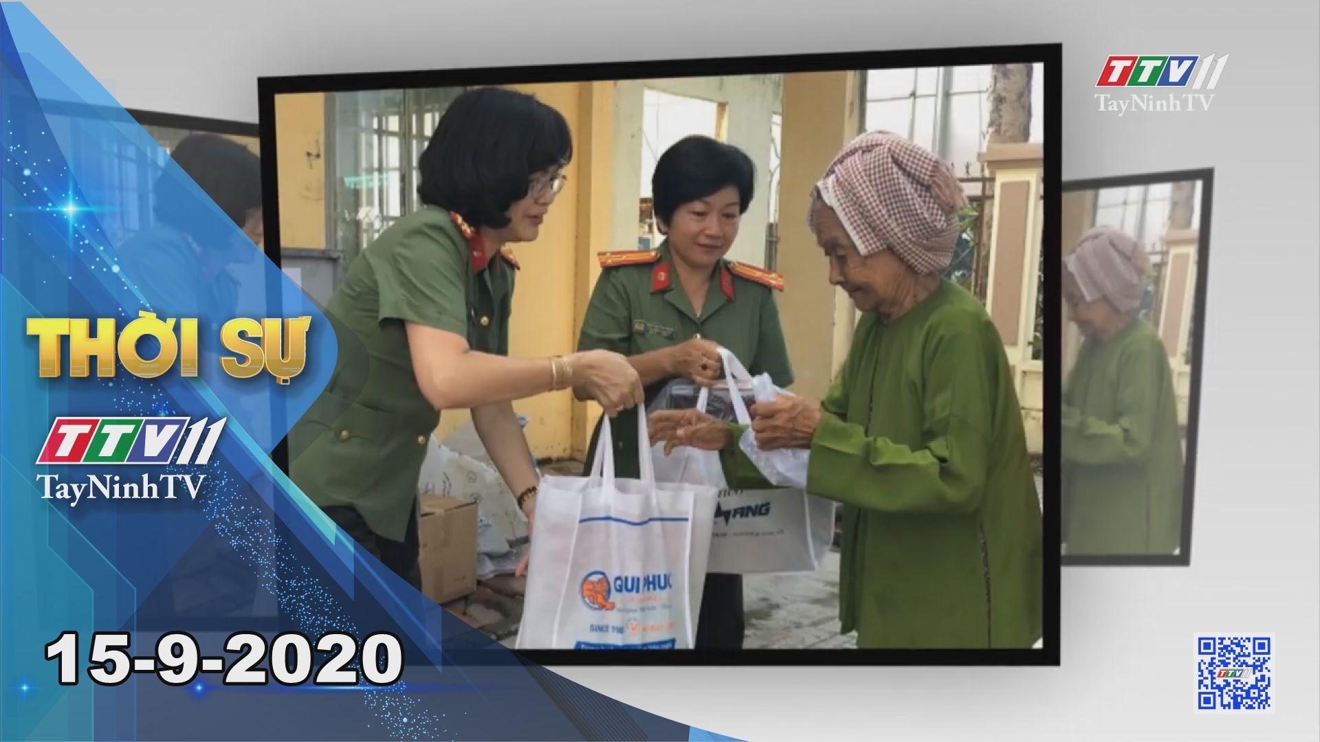 Thời sự Tây Ninh 15-9-2020 | Tin tức hôm nay | TayNinhTV