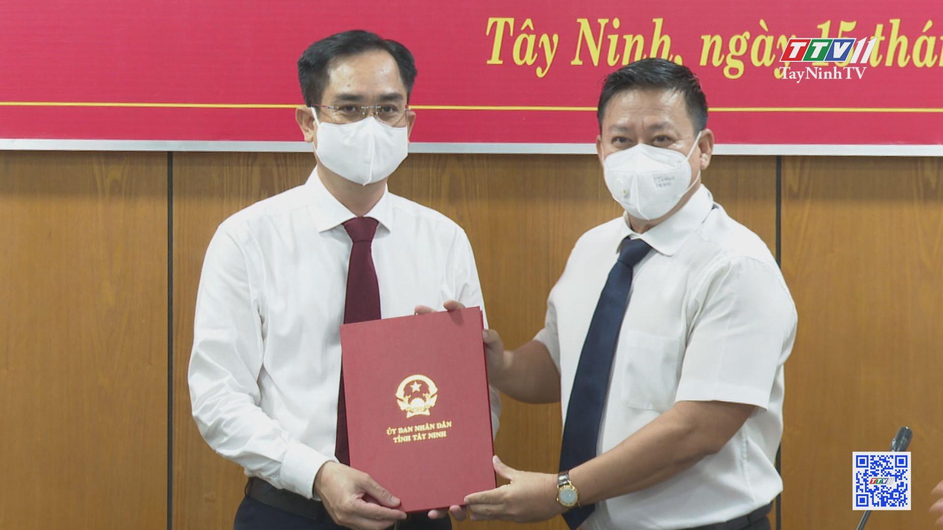 Bổ nhiệm Chánh Văn phòng UBND tỉnh Tây Ninh | NHÂN SỰ MỚI | TayNinhTV
