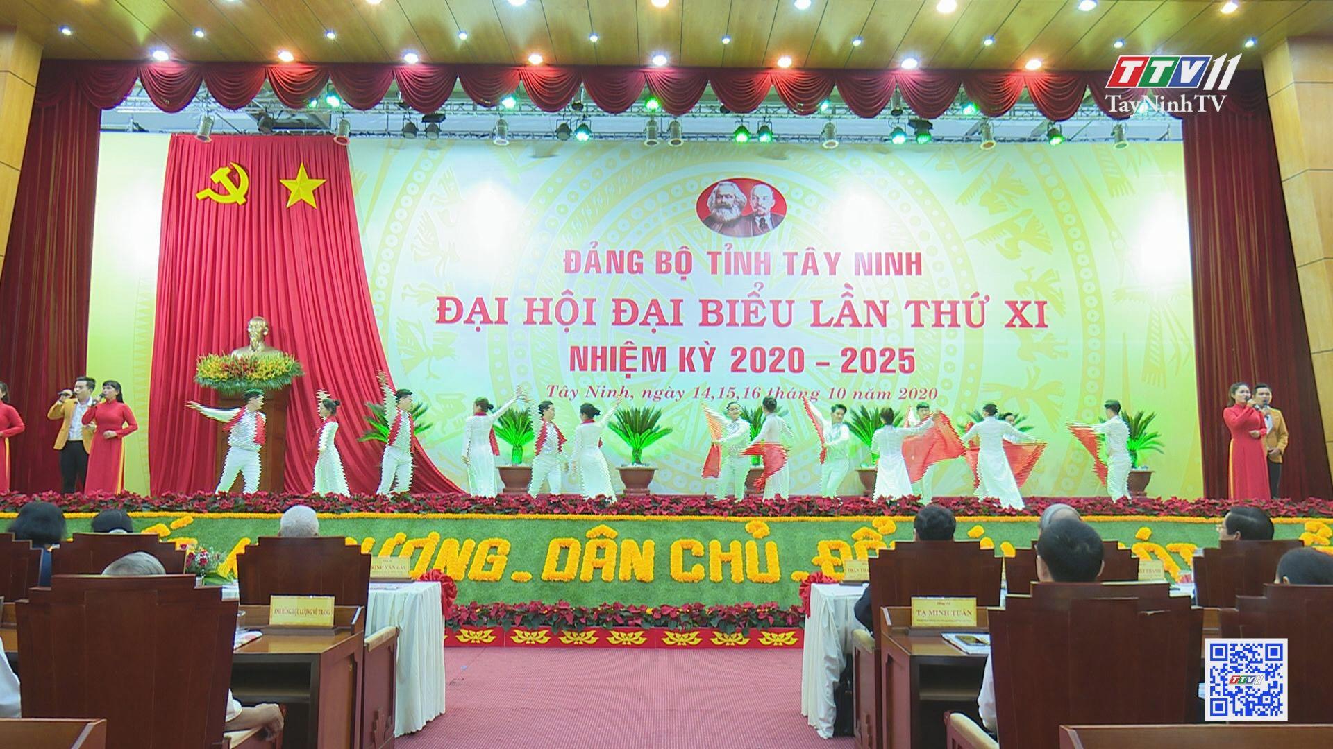Khai mạc Đại hội Đại biểu Đảng bộ tỉnh Tây Ninh lần thứ XI, nhiệm kỳ 2020 - 2025 | TayNinhTV