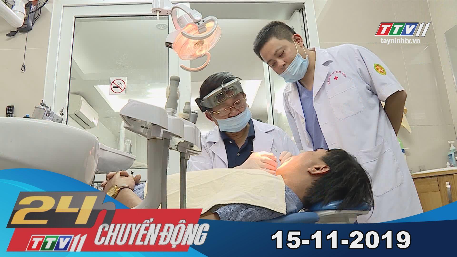 Tây Ninh TV | 24h Chuyển động 15-11-2019 | Tin tức ngày hôm nay
