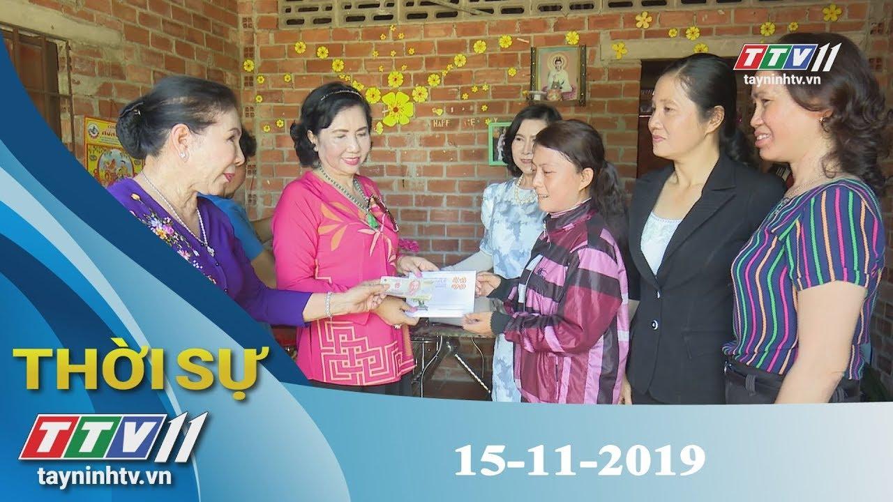 Thời Sự Tây Ninh 15-11-2019 | Tin tức hôm nay | Tây Ninh TV