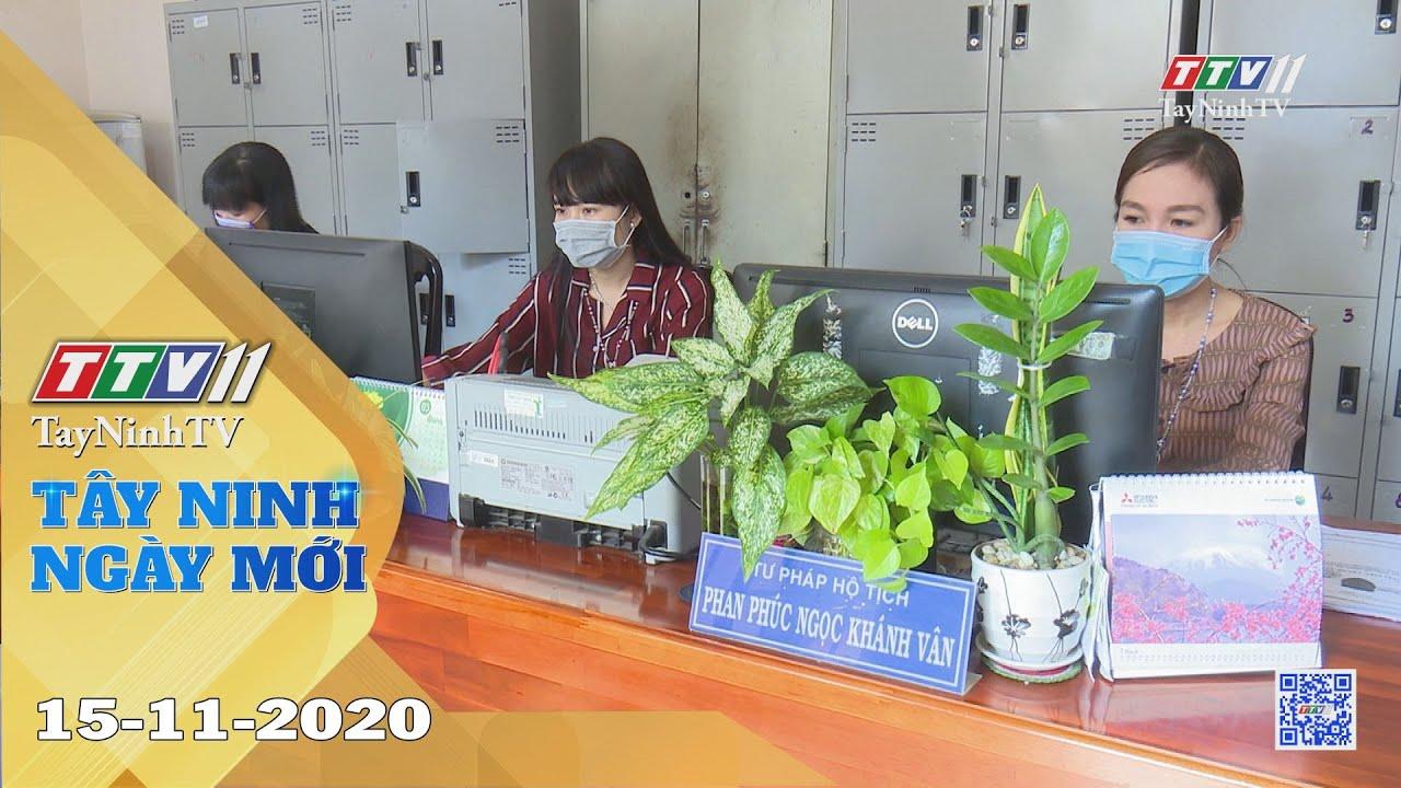 Tây Ninh Ngày Mới 15-11-2020 | Tin tức hôm nay | TayNinhTV