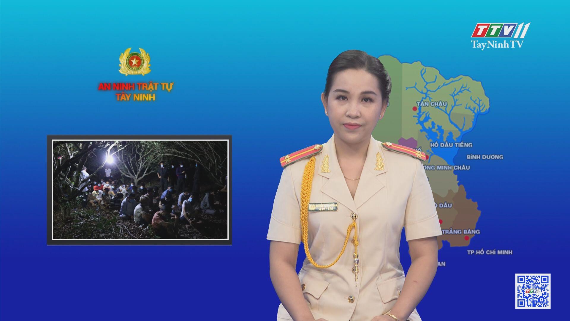 Triệt xoá nhiều xới bạc khủng | AN NINH TRẬT TỰ | TayNinhTV