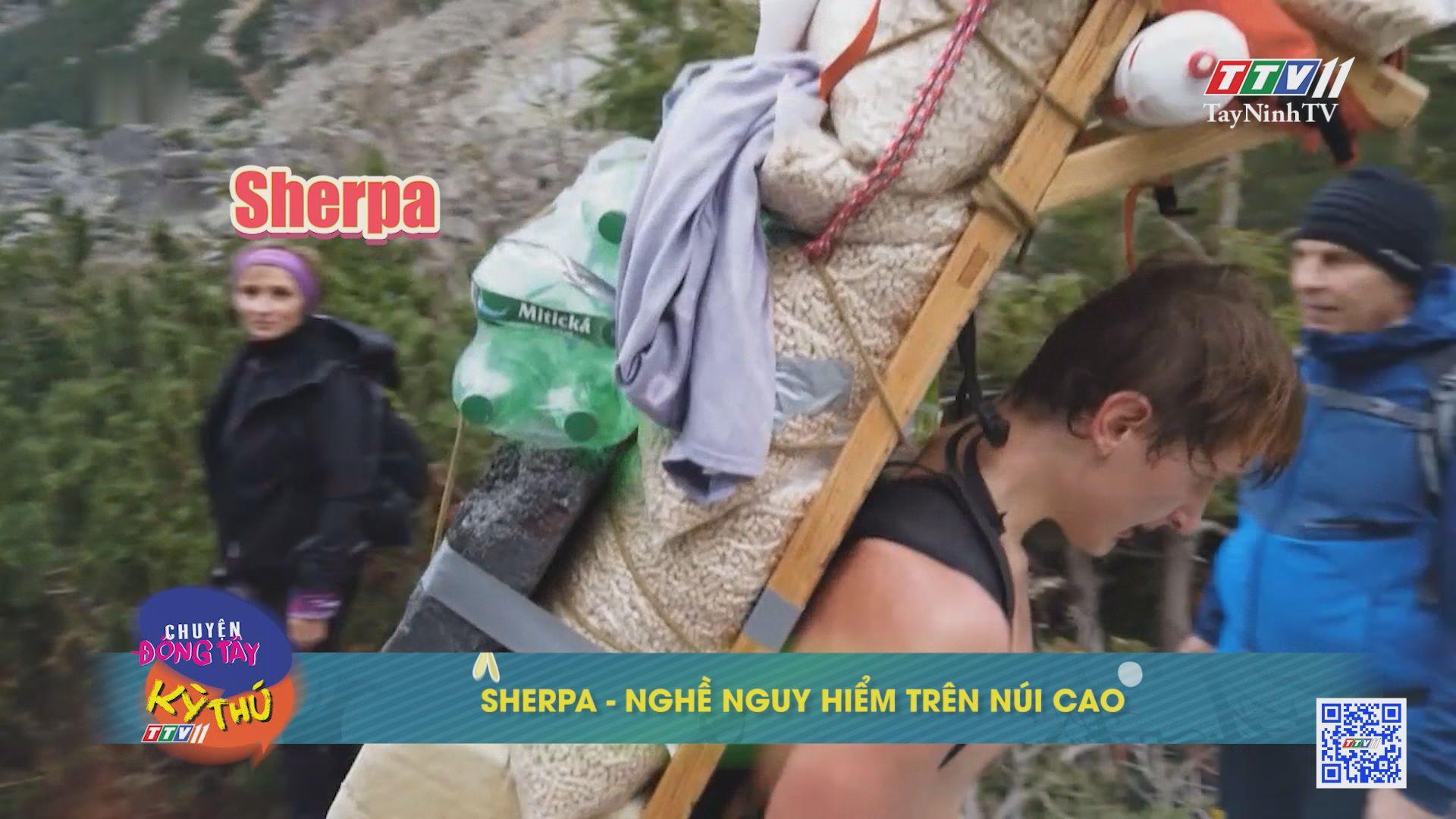 Sherpa-Nghề nguy hiểm trên núi cao | CHUYỆN ĐÔNG TÂY KỲ THÚ | TayNinhTVE