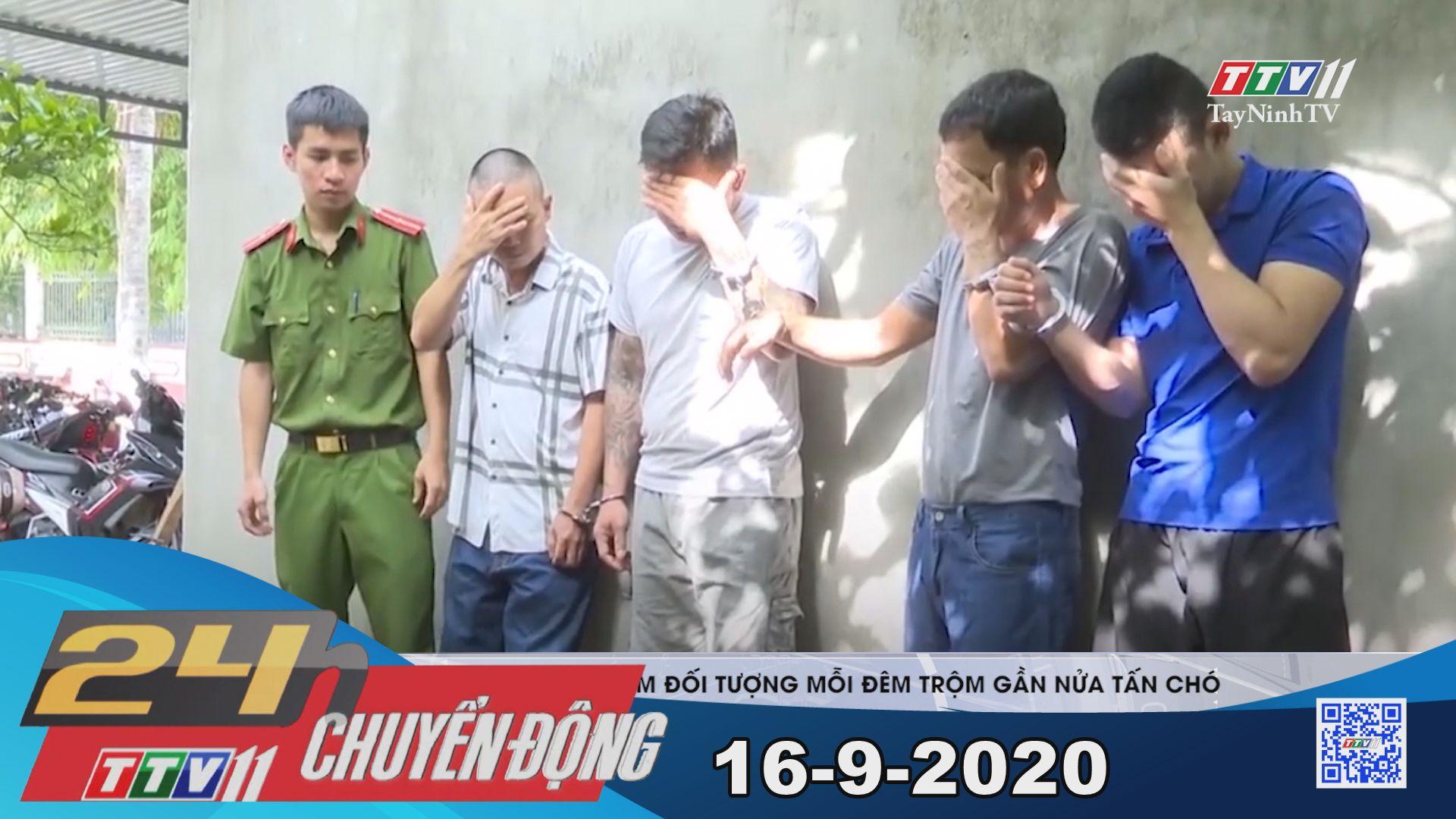24h Chuyển động 16-9-2020 | Tin tức hôm nay | TayNinhTV