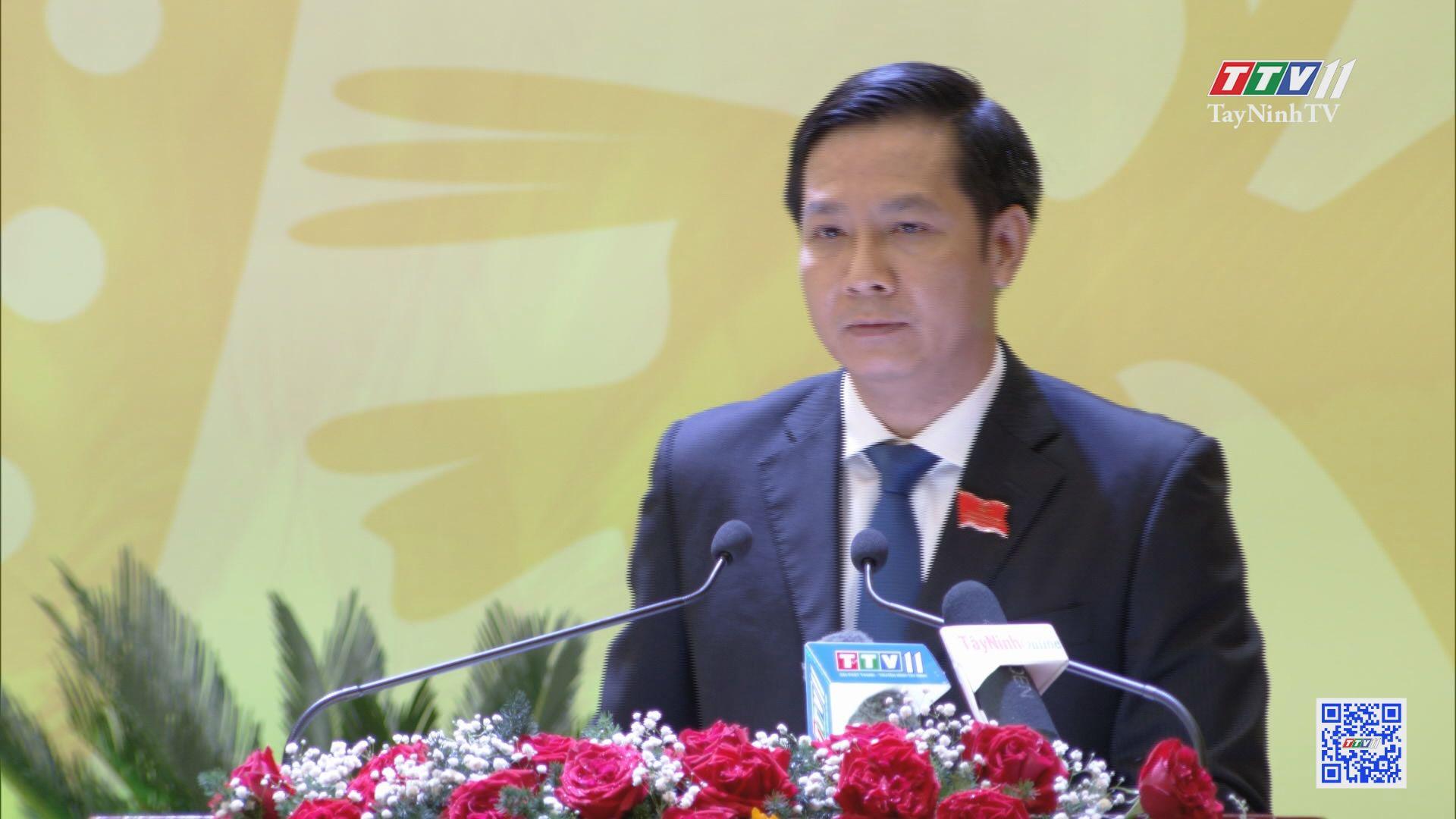 Đồng chí Nguyễn Thành Tâm tái đắc cử Bí thư Tỉnh uỷ Tây Ninh | ĐẠI HỘI ĐẢNG CÁC CẤP | TayNinhTV