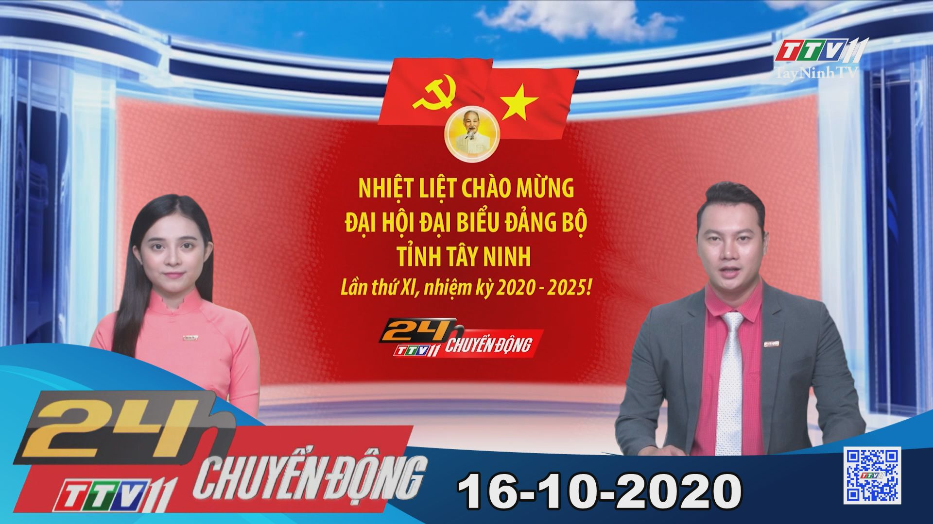 24h Chuyển động 16-10-2020 | Tin tức hôm nay | TayNinhTV