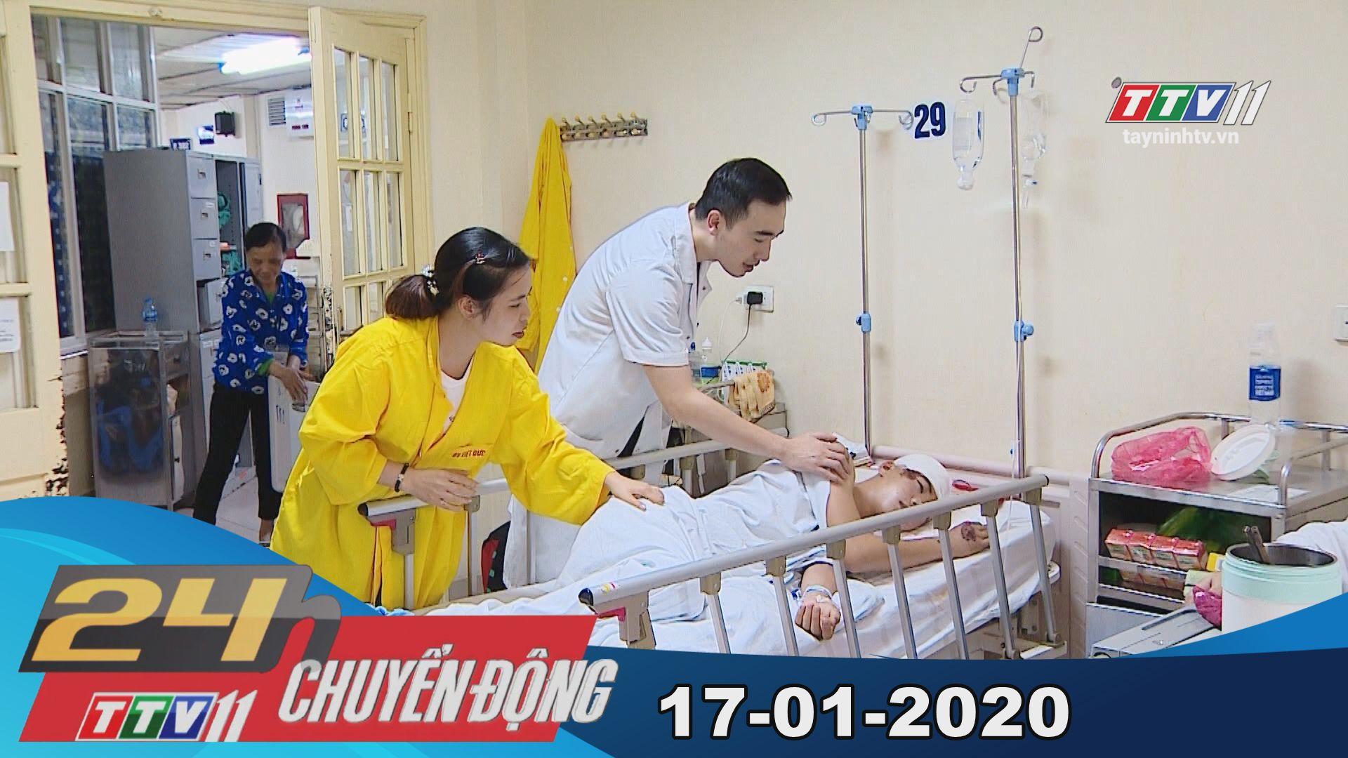 24h Chuyển động 17-01-2020 | Tin tức hôm nay | TayNinhTV