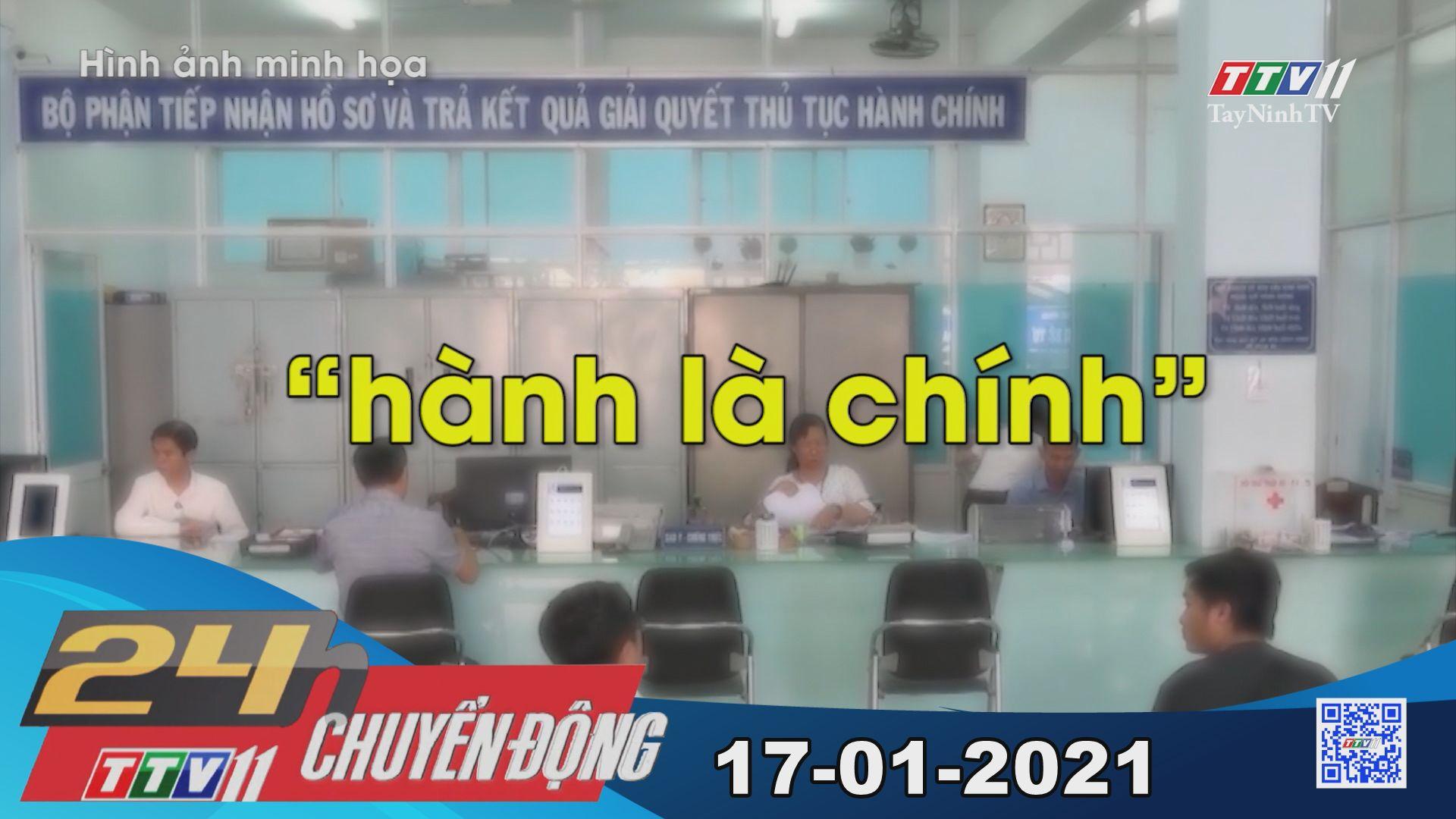 24h Chuyển động 17-01-2021 | Tin tức hôm nay | TayNinhTV