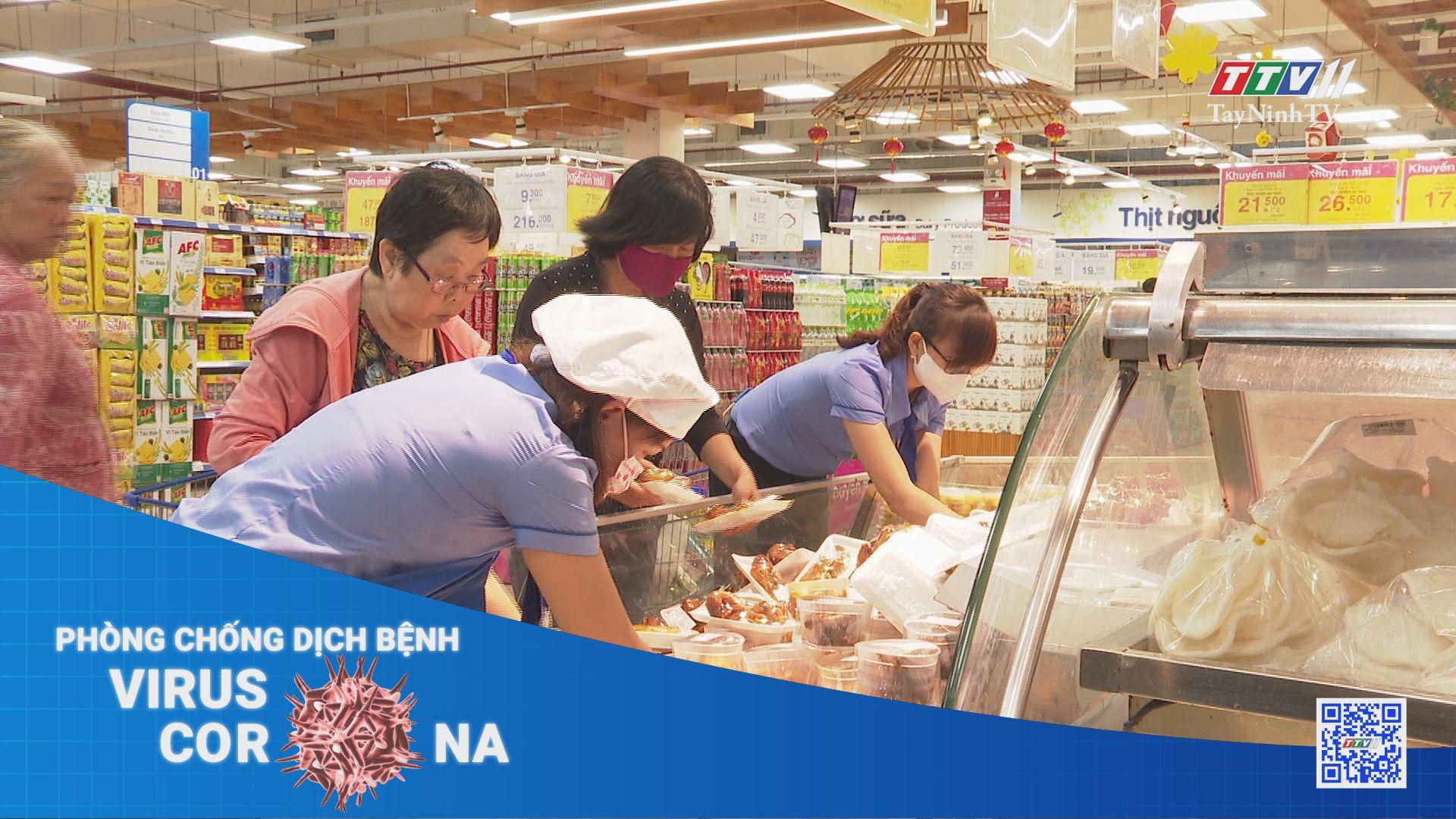 Kiểm soát nguồn lây nhiễm từ thực phẩm nhập khẩu, thực phẩm đông lạnh | THÔNG TIN DỊCH CÚM COVID-19 | TayNinhTV