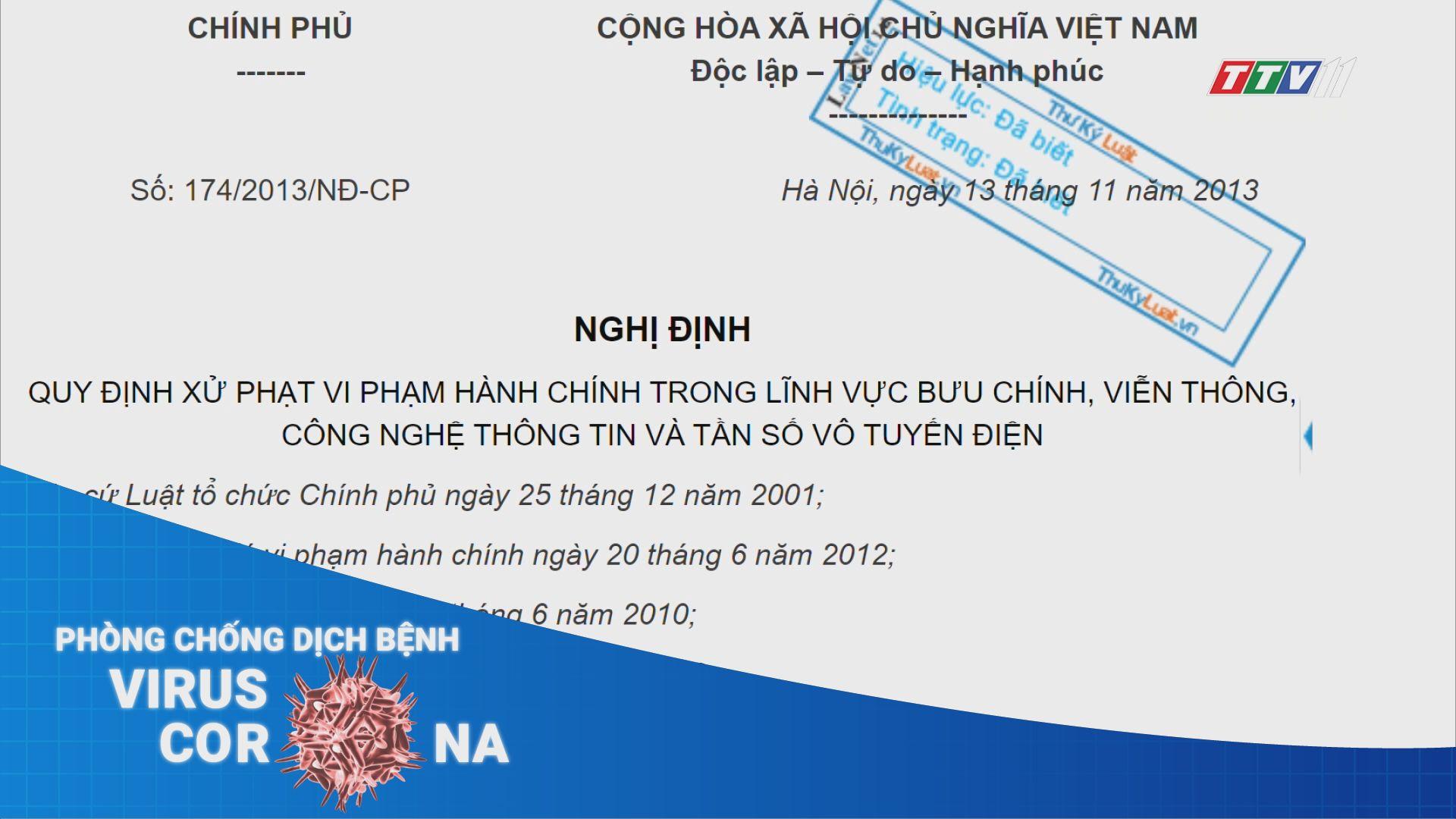 Tăng cường quản lý và xử lý thông tin sai | THÔNG TIN DỊCH CÚM nCoV | TayNinhTV