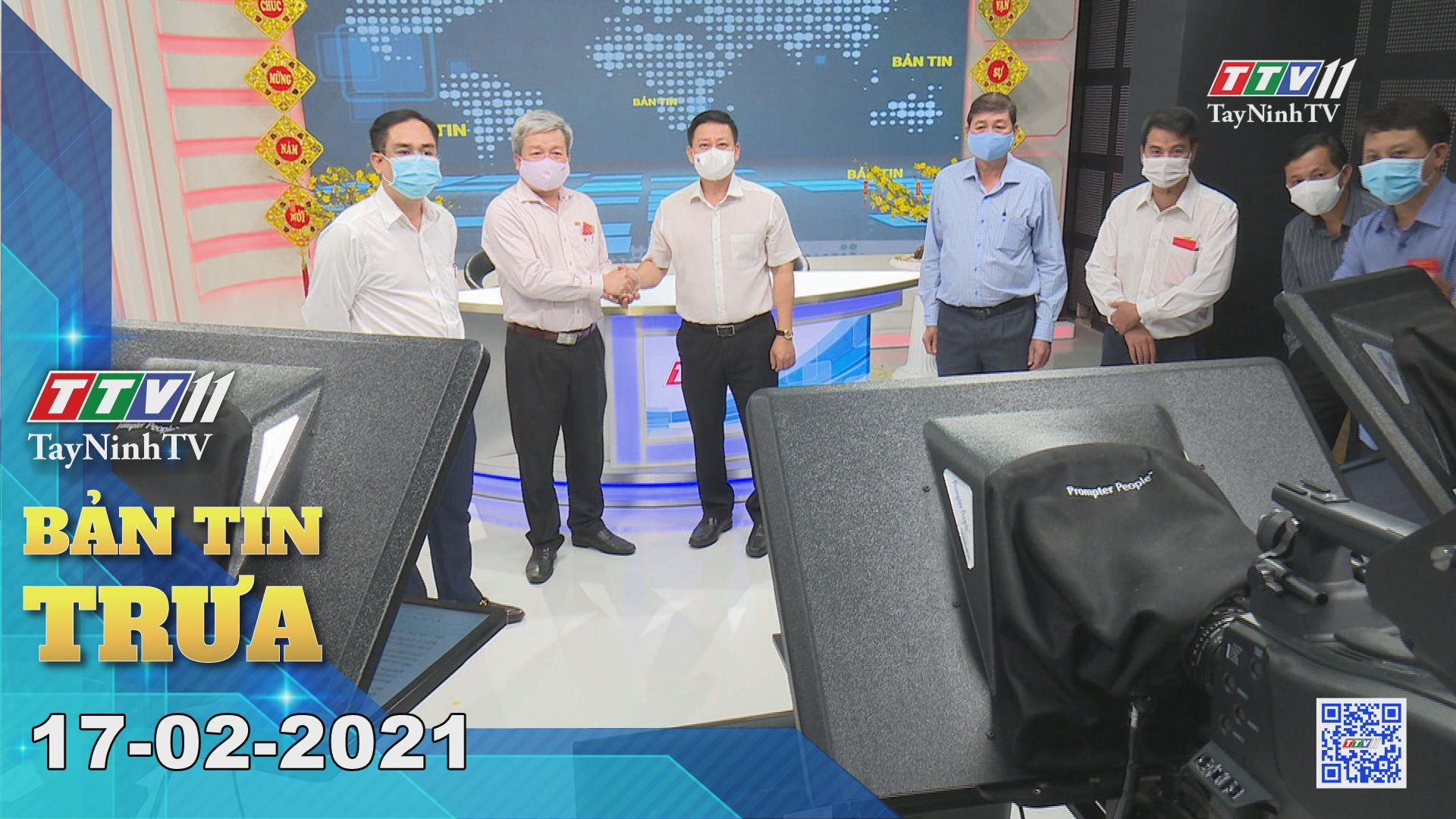 Bản tin trưa 17-02-2021 | Tin tức hôm nay | TayNinhTV