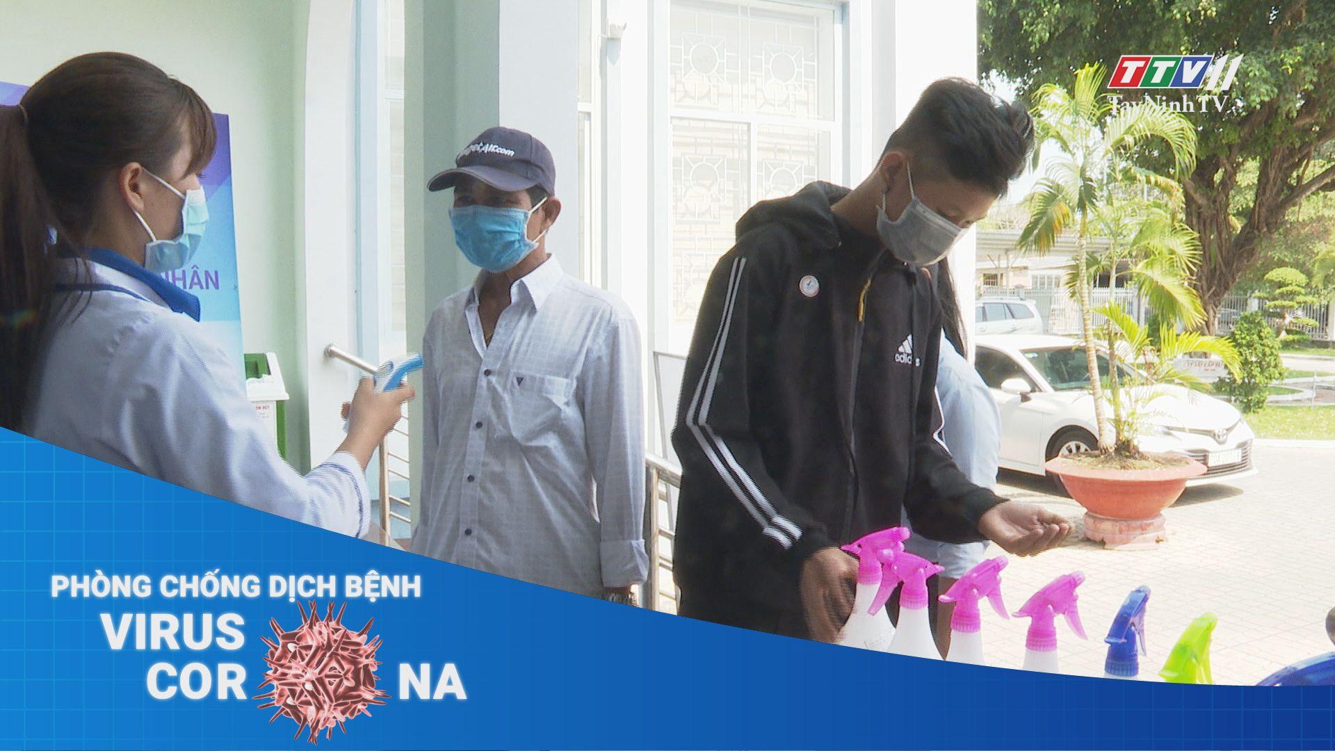 Cơ quan, đơn vị thực hiện nghiêm việc đeo khẩu trang | THÔNG TIN DỊCH COVID-19 | TayNinhTV