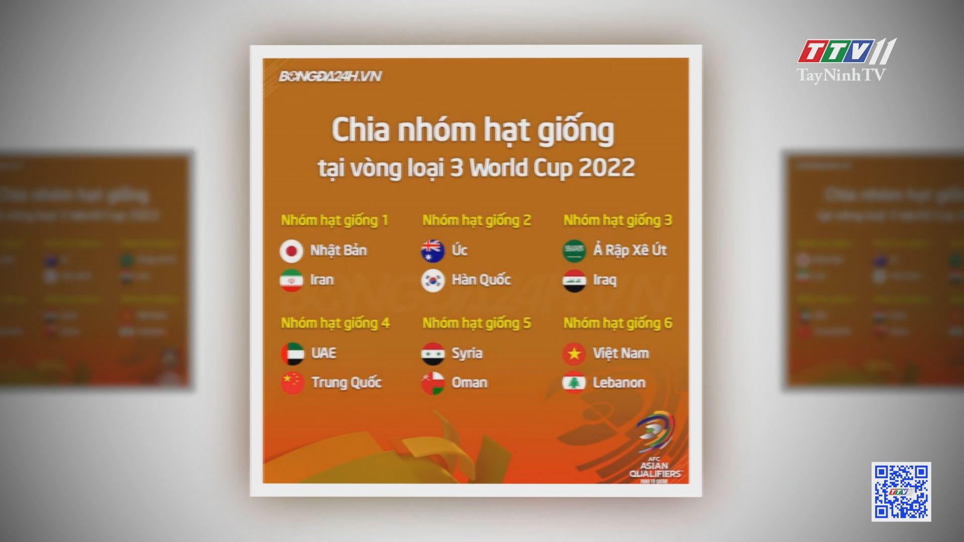 Lễ bốc thăm vòng loại cuối cùng WORLD CUP 2022 khu vực châu Á sẽ diễn ra vào ngày 01/7/2021 | BẢN TIN THỂ THAO | TayNinhTVE