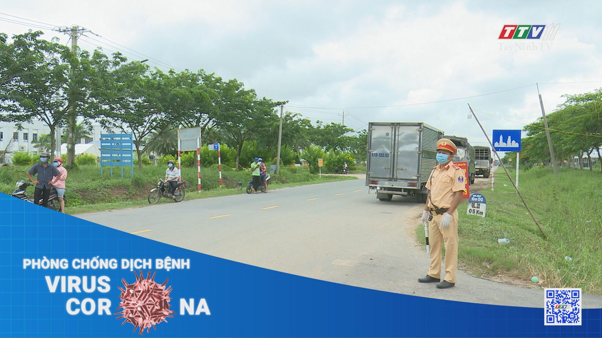 Đảm bảo triển khai hiệu quả Chỉ thị 16 của Chính phủ tại một số địa phương   THÔNG TIN DỊCH COVID-19   TayNinhTV