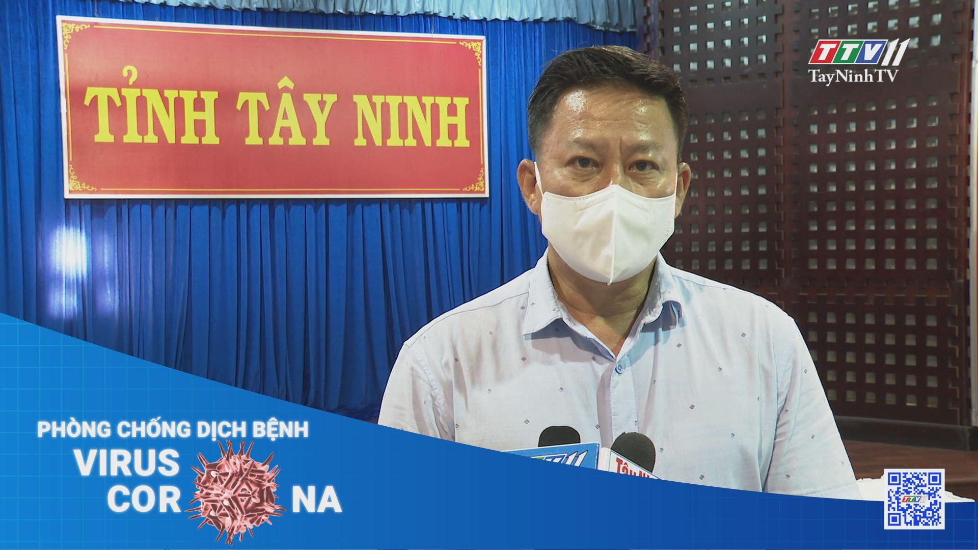 Lãnh đạo tỉnh thông tin về tình hình dịch bệnh Covid-19 trên địa bàn tỉnh Tây Ninh | THÔNG TIN DỊCH COVID-19 | TayNinhTV