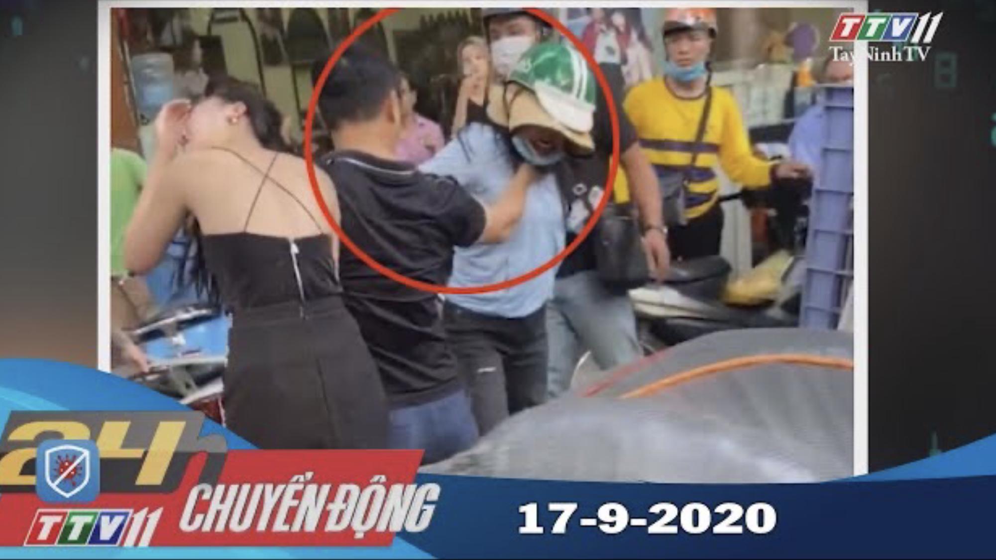 24h Chuyển động 17-9-2020 | Tin tức hôm nay | TayNinhTV