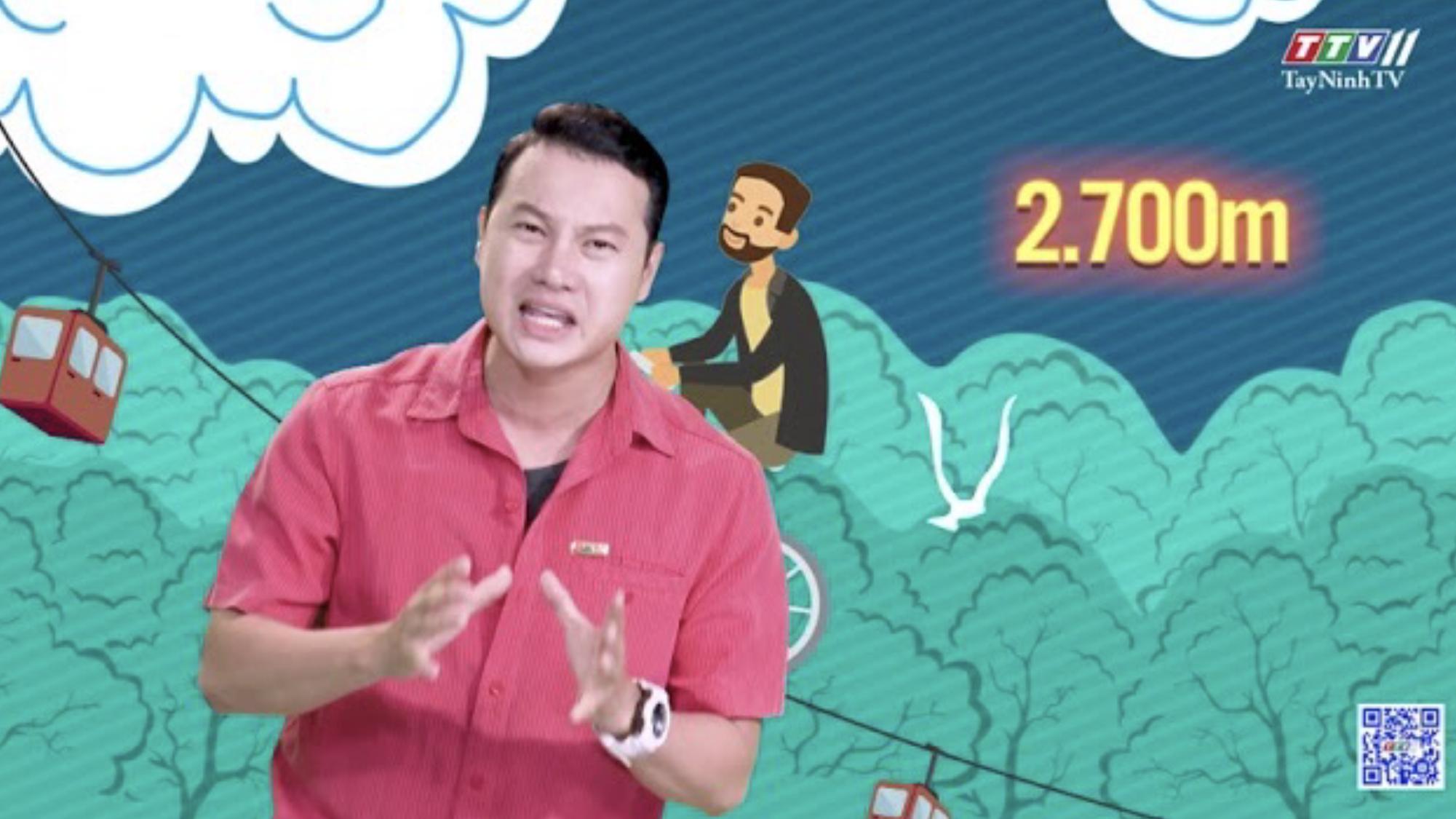Chinh phục ngọn núi cao cùng với thanh tạ trên vai | CHUYỆN ĐÔNG TÂY KỲ THÚ | TayNinhTV