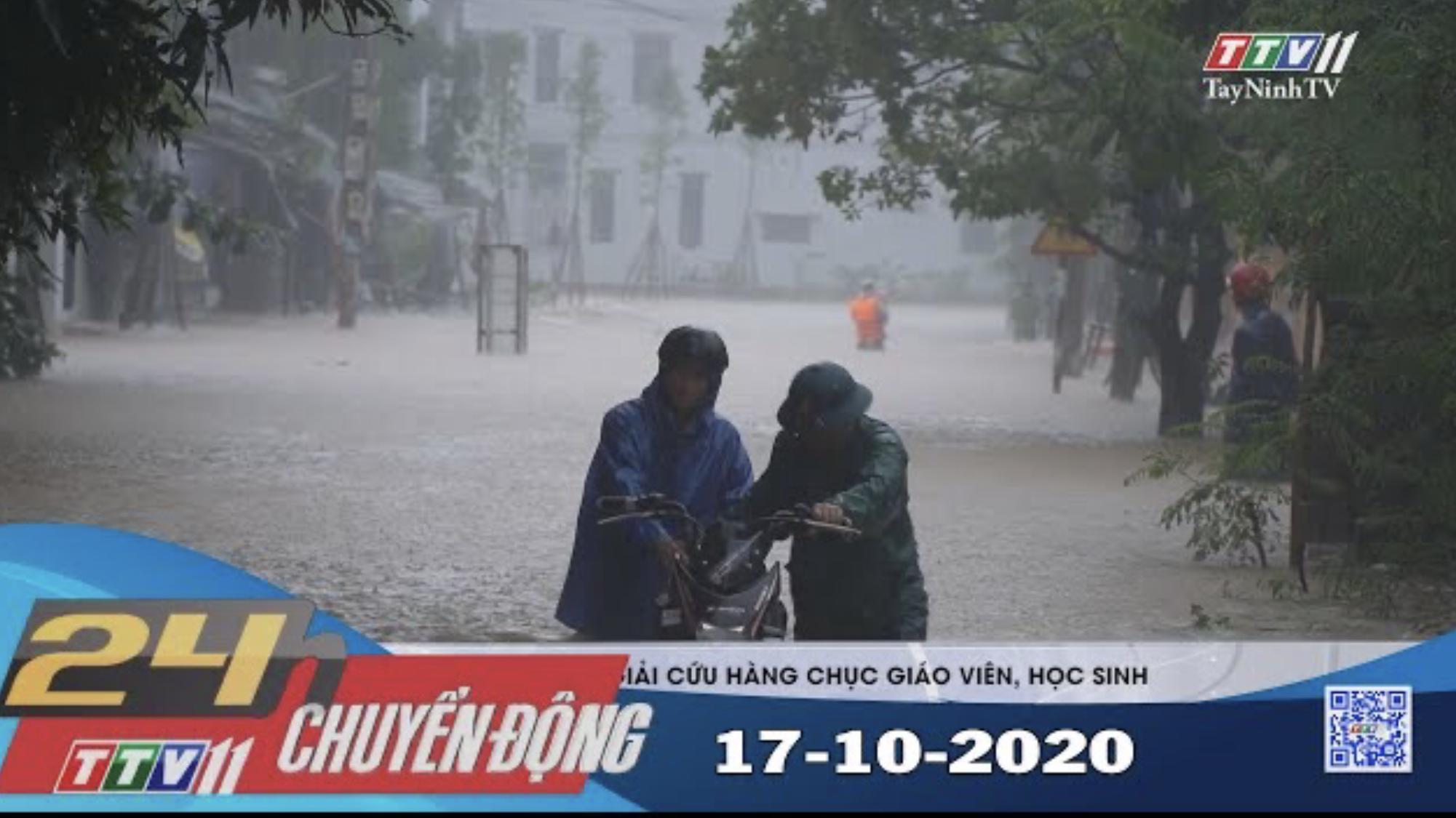 24h Chuyển động 17-10-2020 | Tin tức hôm nay | TayNinhTV