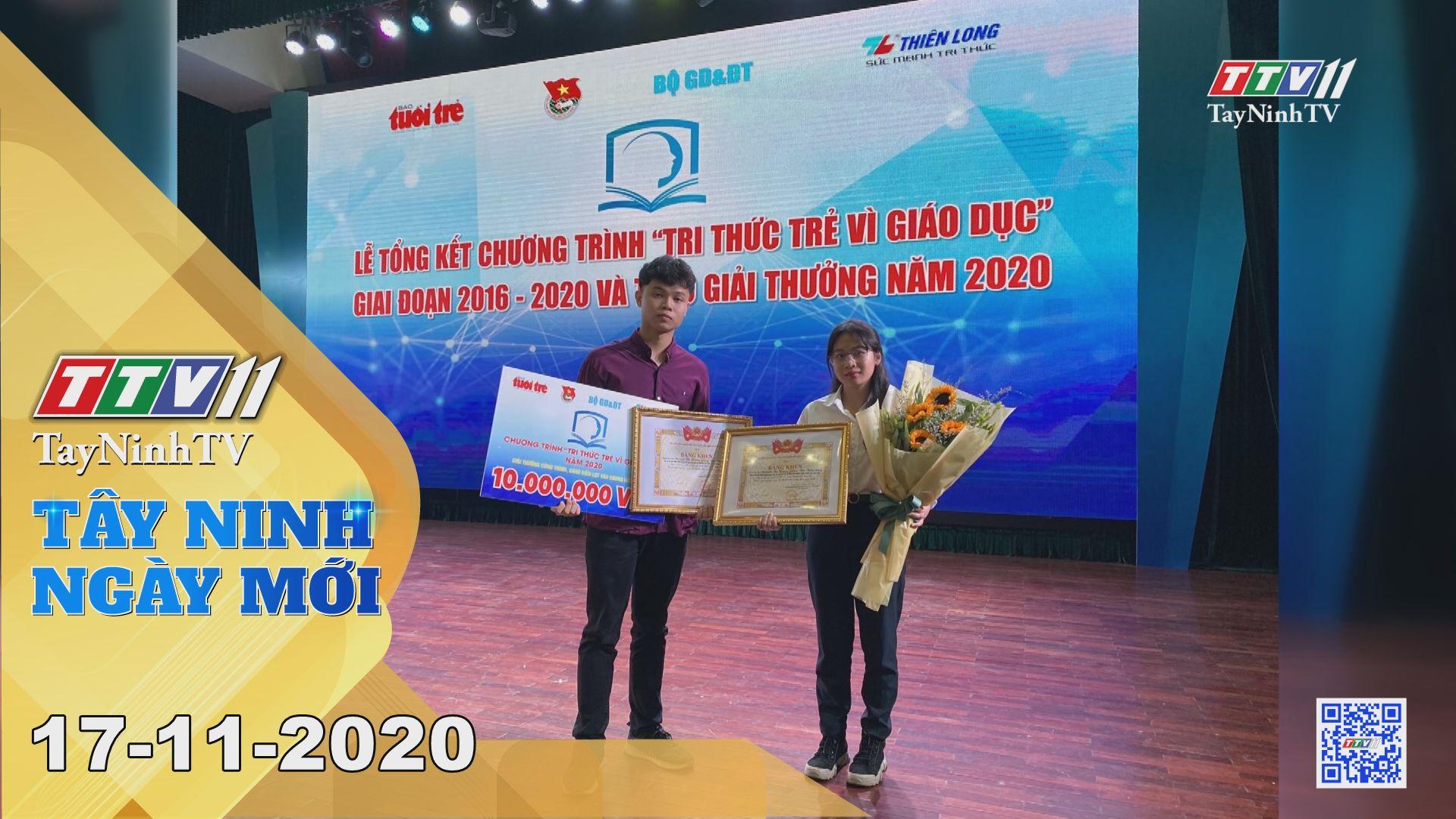 Tây Ninh Ngày Mới 17-11-2020 | Tin tức hôm nay | TayNinhTV