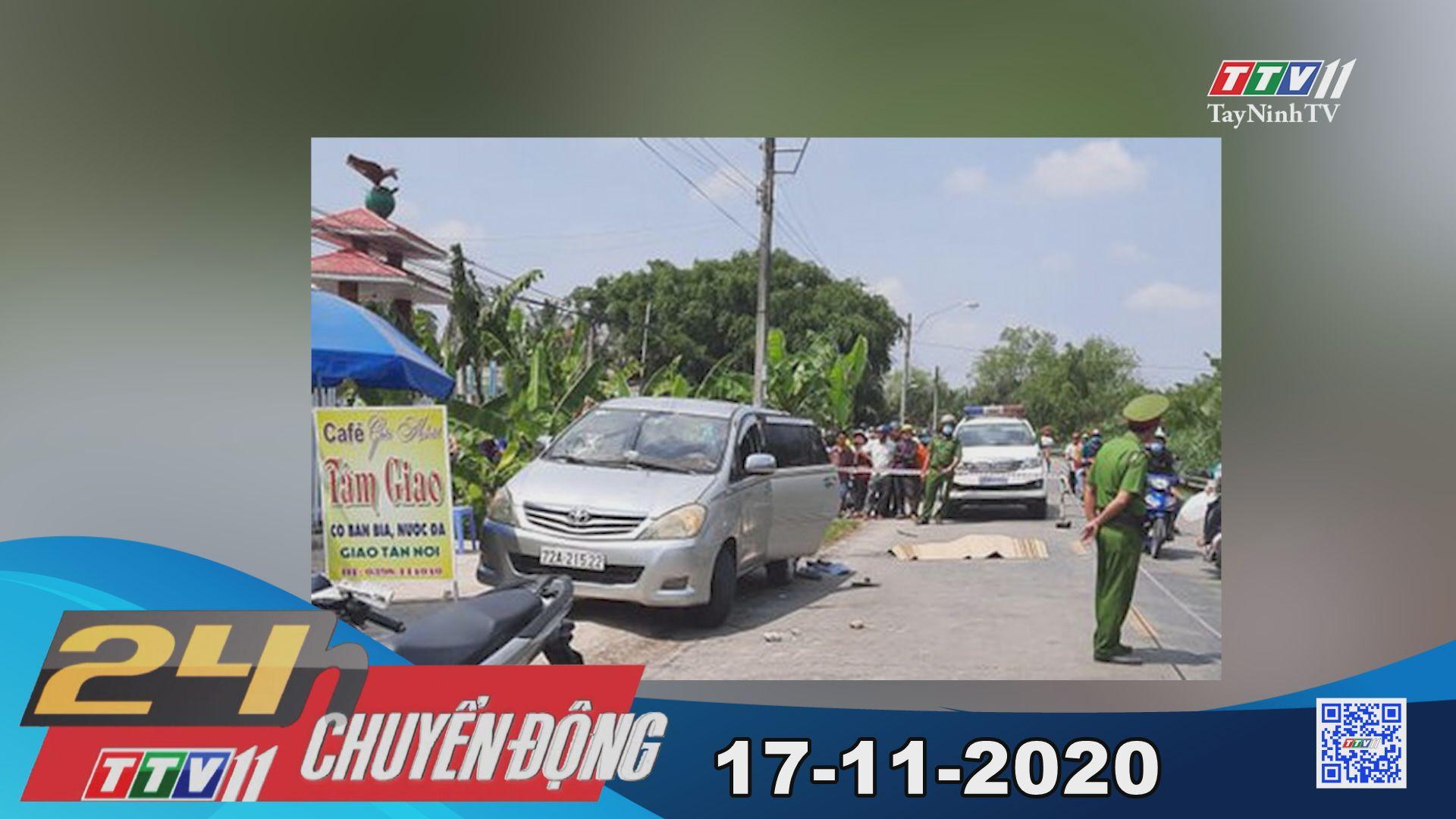 24h Chuyển động 17-11-2020 | Tin tức hôm nay | TayNinhTV